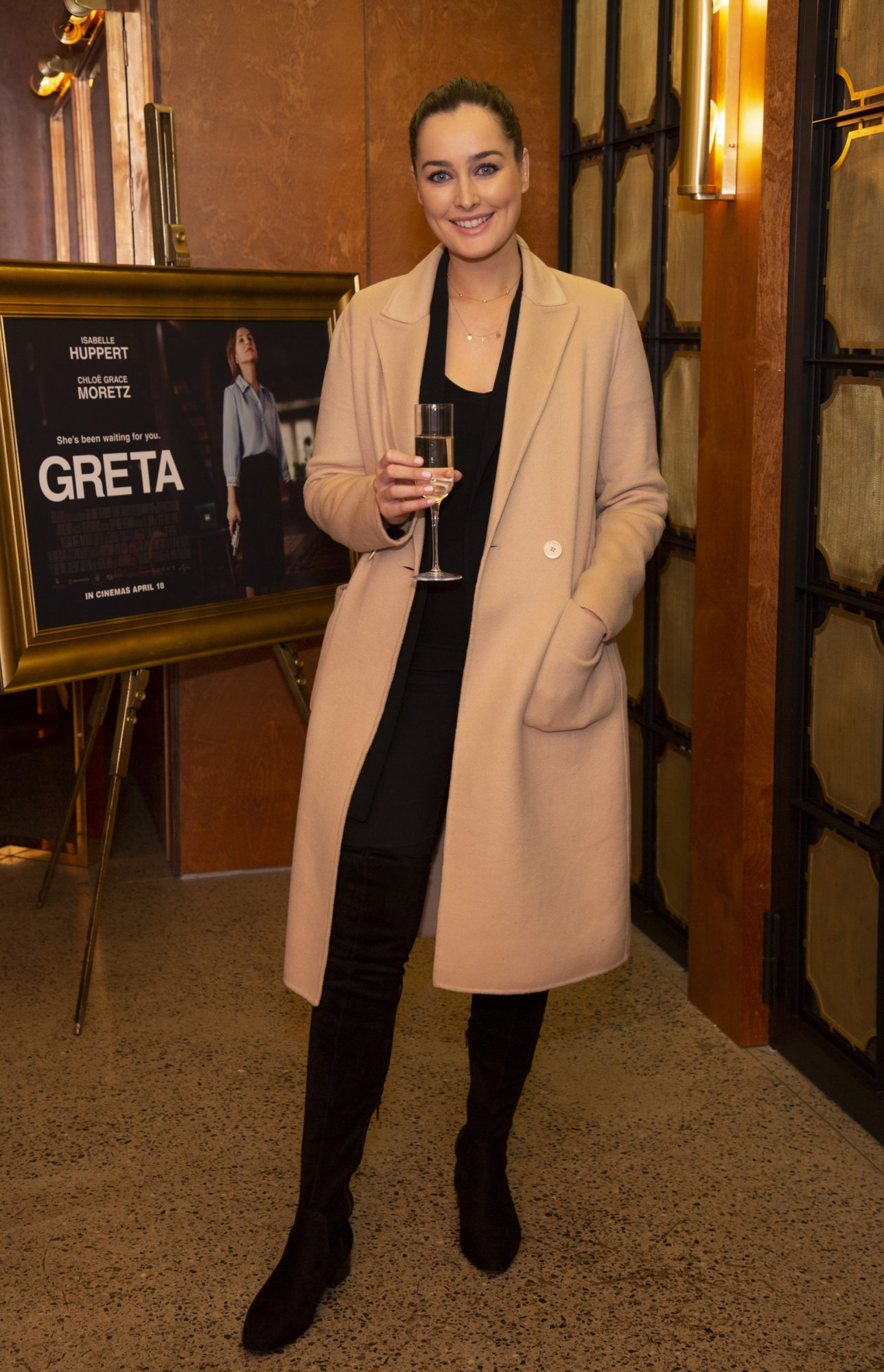 Rachel Purcell pictured at a special preview screening of GRETA at The Stella Theatre, Ranelagh. GRETA, directed by Academy Award®-winner Neil Jordan and starring Chloë Grace Moretz and Isabelle Huppert, hits cinemas across Ireland this Thursday 18th April. Photo: Anthony Woods