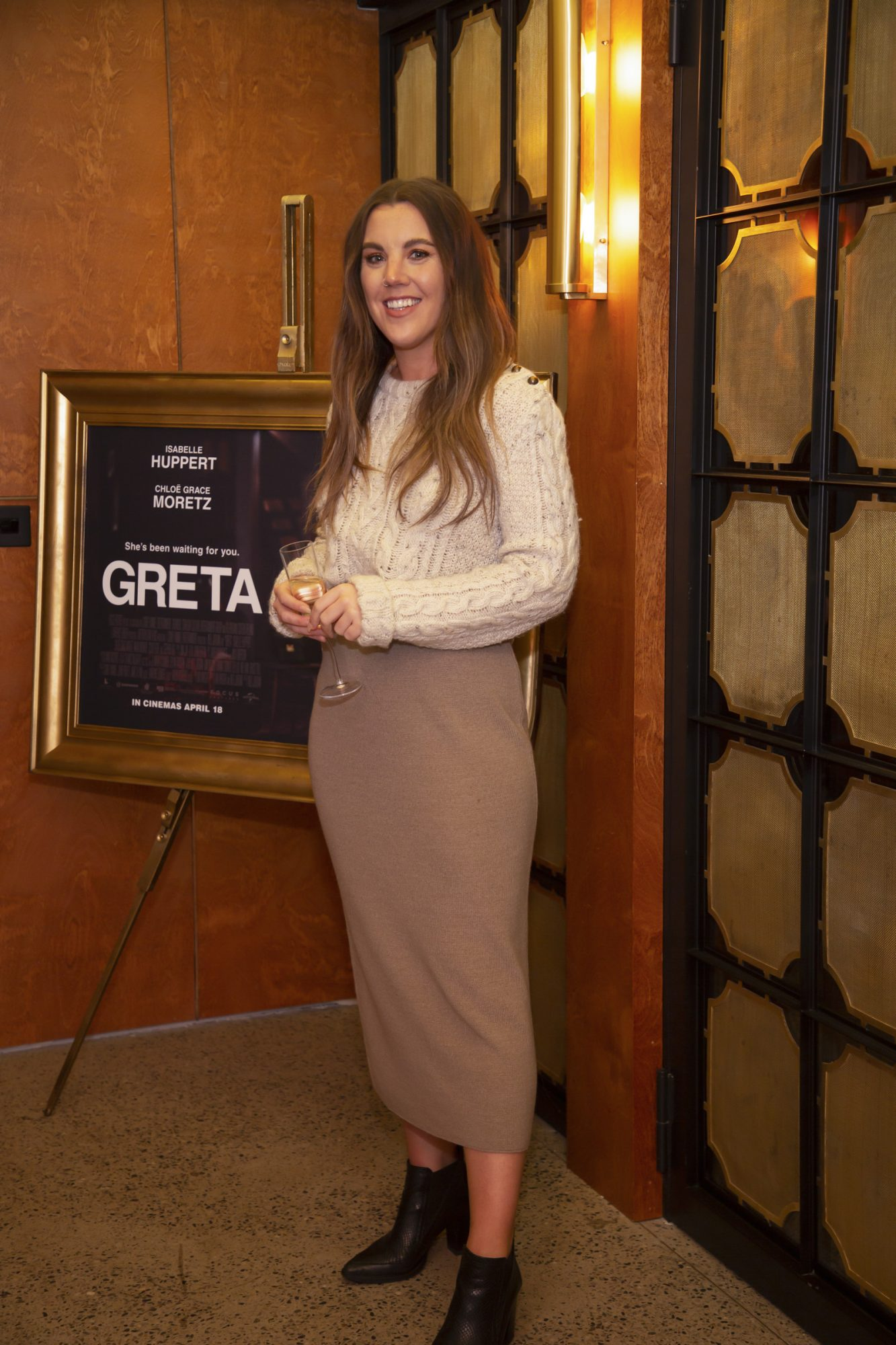 Sarah Hanrahan pictured at a special preview screening of GRETA at The Stella Theatre, Ranelagh. GRETA, directed by Academy Award®-winner Neil Jordan and starring Chloë Grace Moretz and Isabelle Huppert, hits cinemas across Ireland this Thursday 18th April. Photo: Anthony Woods