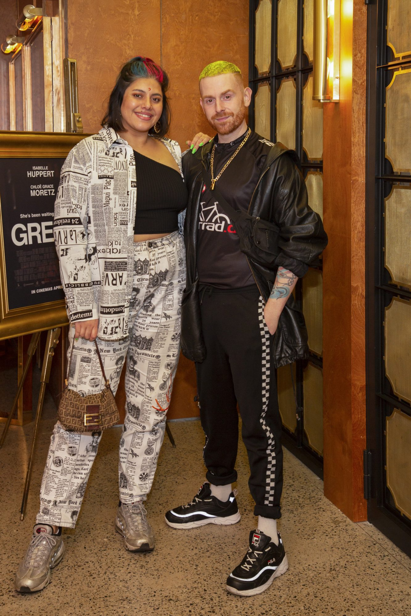 Tara Stewart & Terry Murphy pictured at a special preview screening of GRETA at The Stella Theatre, Ranelagh. GRETA, directed by Academy Award®-winner Neil Jordan and starring Chloë Grace Moretz and Isabelle Huppert, hits cinemas across Ireland this Thursday 18th April. Photo: Anthony Woods
