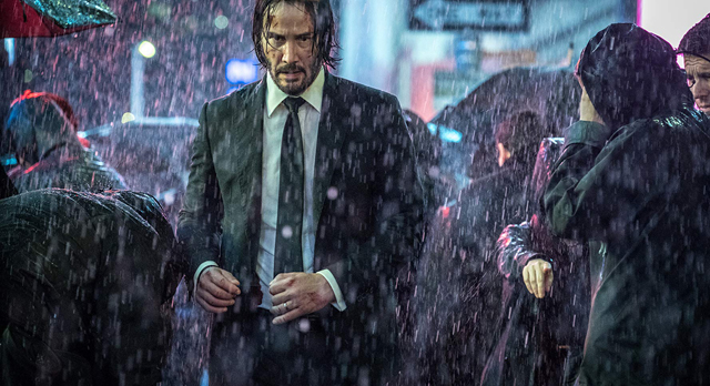 Keanu Reeves stars as John Wick in John Wick Chapter 3 - Parabellum