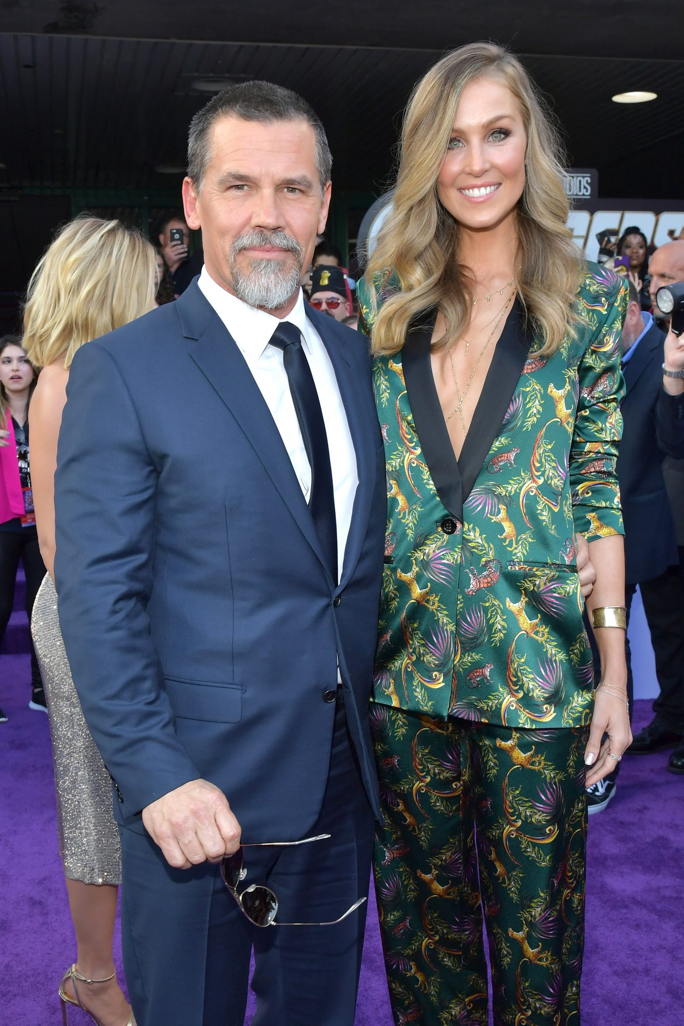 """Josh Brolin and Kathryn Boyd attend the world premiere of Walt Disney Studios Motion Pictures """"Avengers: Endgame"""" at the Los Angeles Convention Center on April 22, 2019 in Los Angeles, California.  (Photo by Amy Sussman/Getty Images)"""