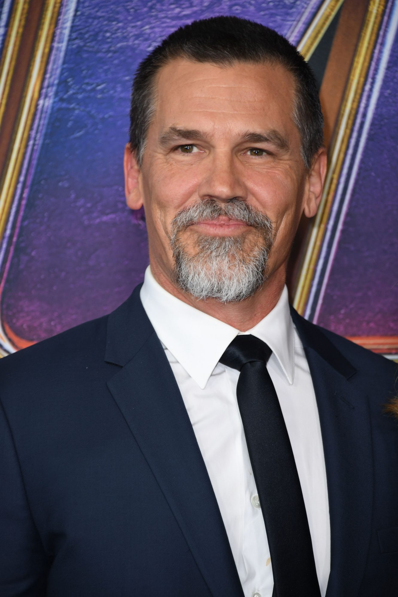 """US actor Josh Brolin arrives for the World premiere of Marvel Studios' """"Avengers: Endgame"""" at the Los Angeles Convention Center on April 22, 2019 in Los Angeles. (Photo by VALERIE MACON/AFP/Getty Images)"""