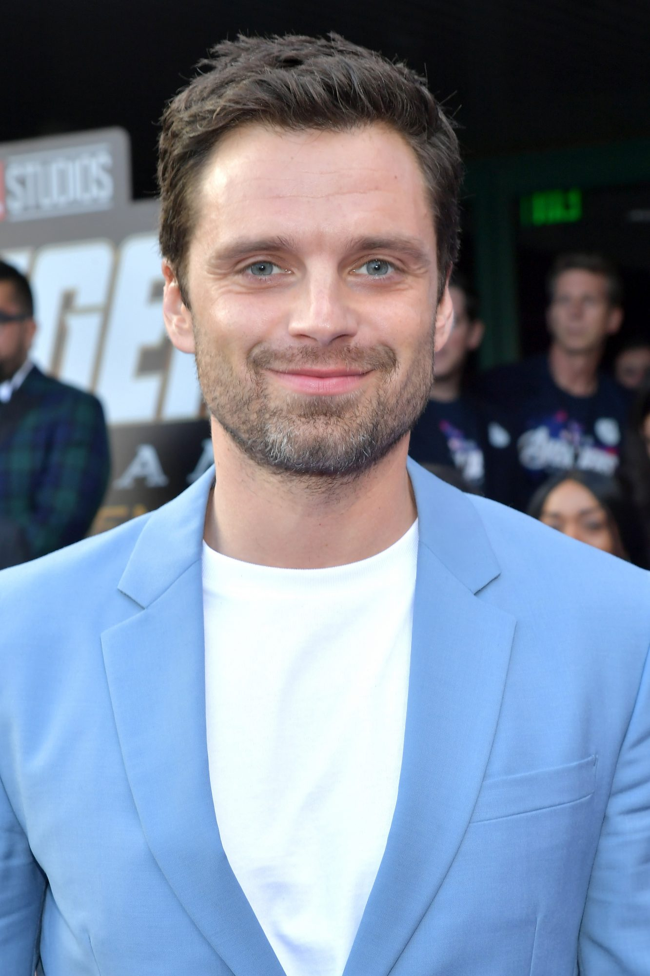 """Sebastian Stan attends the world premiere of Walt Disney Studios Motion Pictures """"Avengers: Endgame"""" at the Los Angeles Convention Center on April 22, 2019 in Los Angeles, California.  (Photo by Amy Sussman/Getty Images)"""