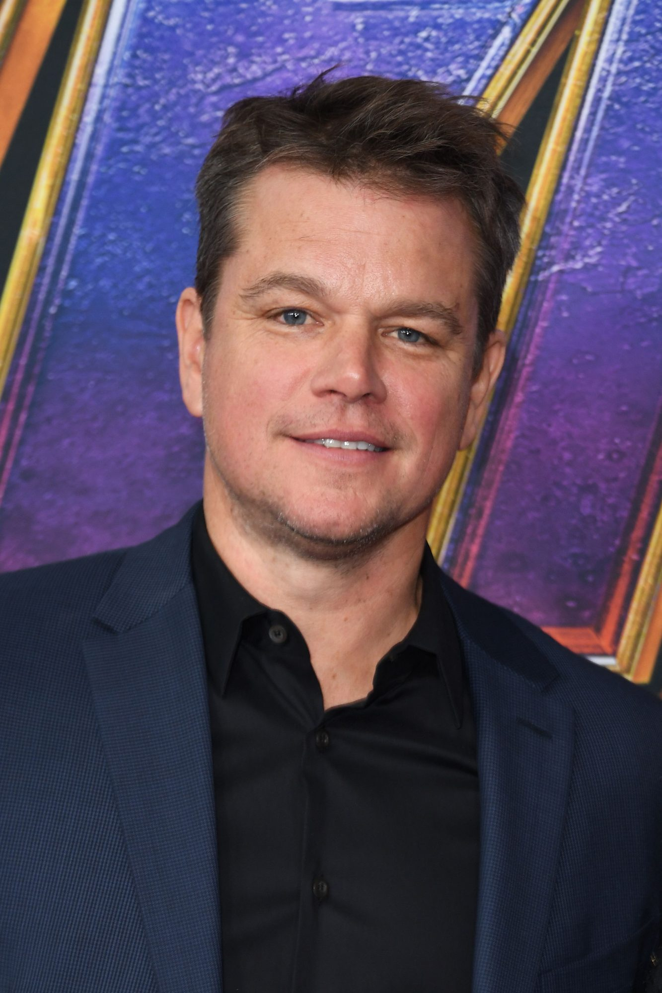 """US actor Matt Damon arrives for the World premiere of Marvel Studios' """"Avengers: Endgame"""" at the Los Angeles Convention Center on April 22, 2019 in Los Angeles. (Photo by VALERIE MACON/AFP/Getty Images)"""