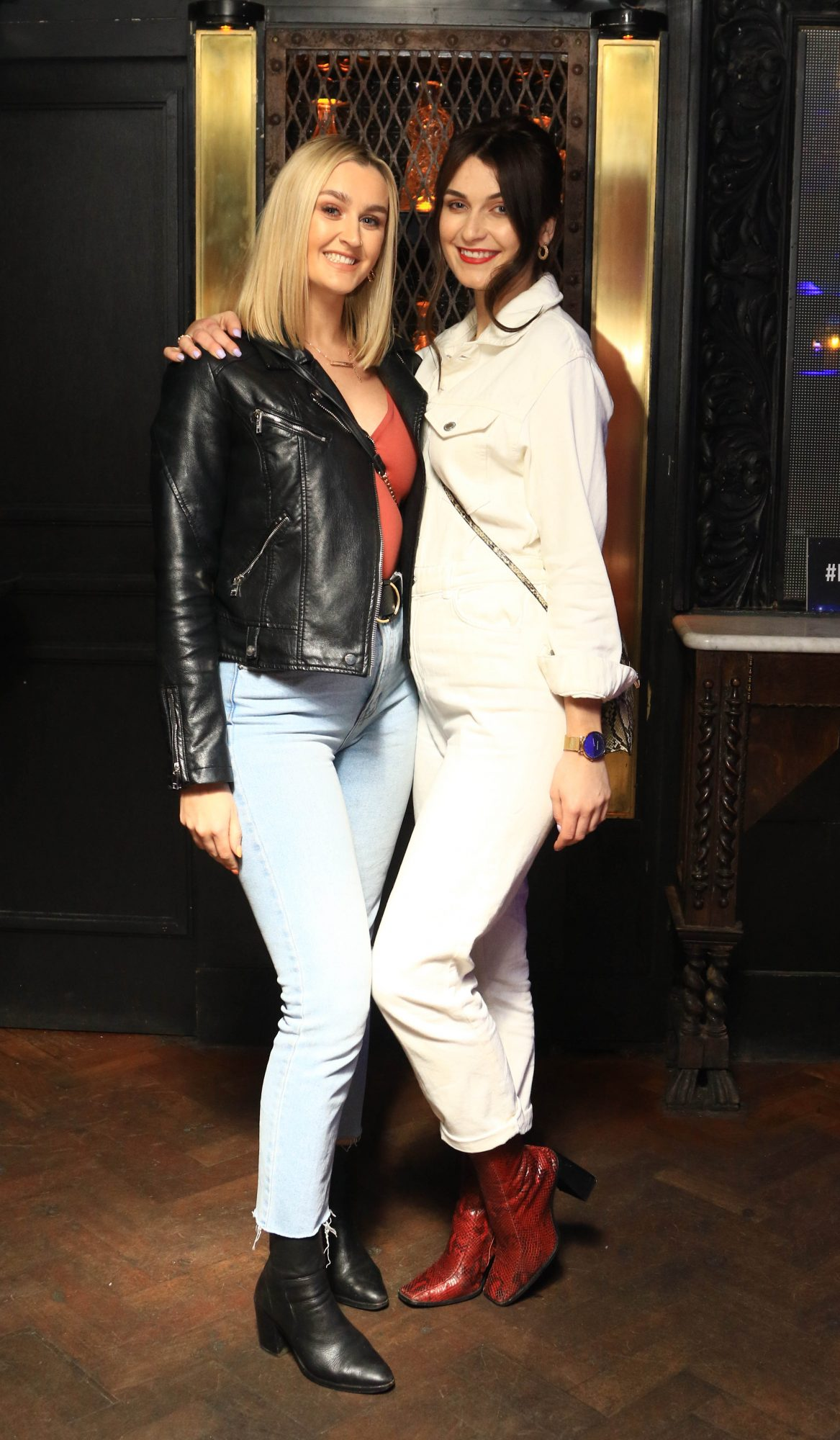 Pictured is Rachel Kearney and Ashalana Downes at Everleigh, the award winning club, bar and venue situated in The Dean Hotel, Harcourt Street for the official launch of the Summer Series at Everleigh with CÎROC Vodka. The Summer Series at Everleigh will see LIVE music and performances from Ireland's top entertainers throughout the summer, along with showcasing the latest CÎROC Vodka bottle experiences and bespoke cocktail menu.
