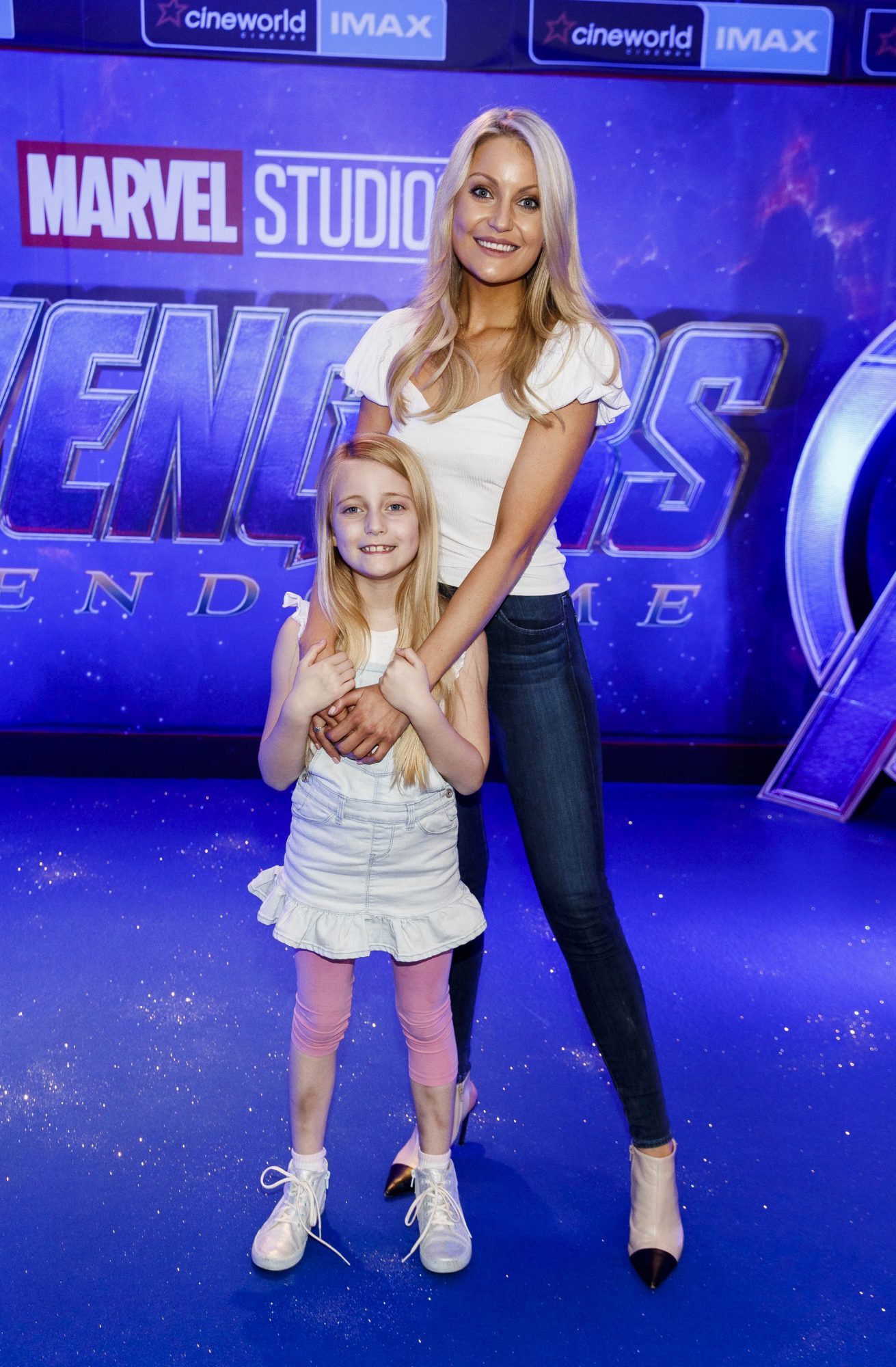 Kerri Nicole Blanc and daughter Kayla pictured at the special preview screening of Marvel Studios' Avengers: Endgame at Cineworld Dublin. Picture by: Andres Poveda
