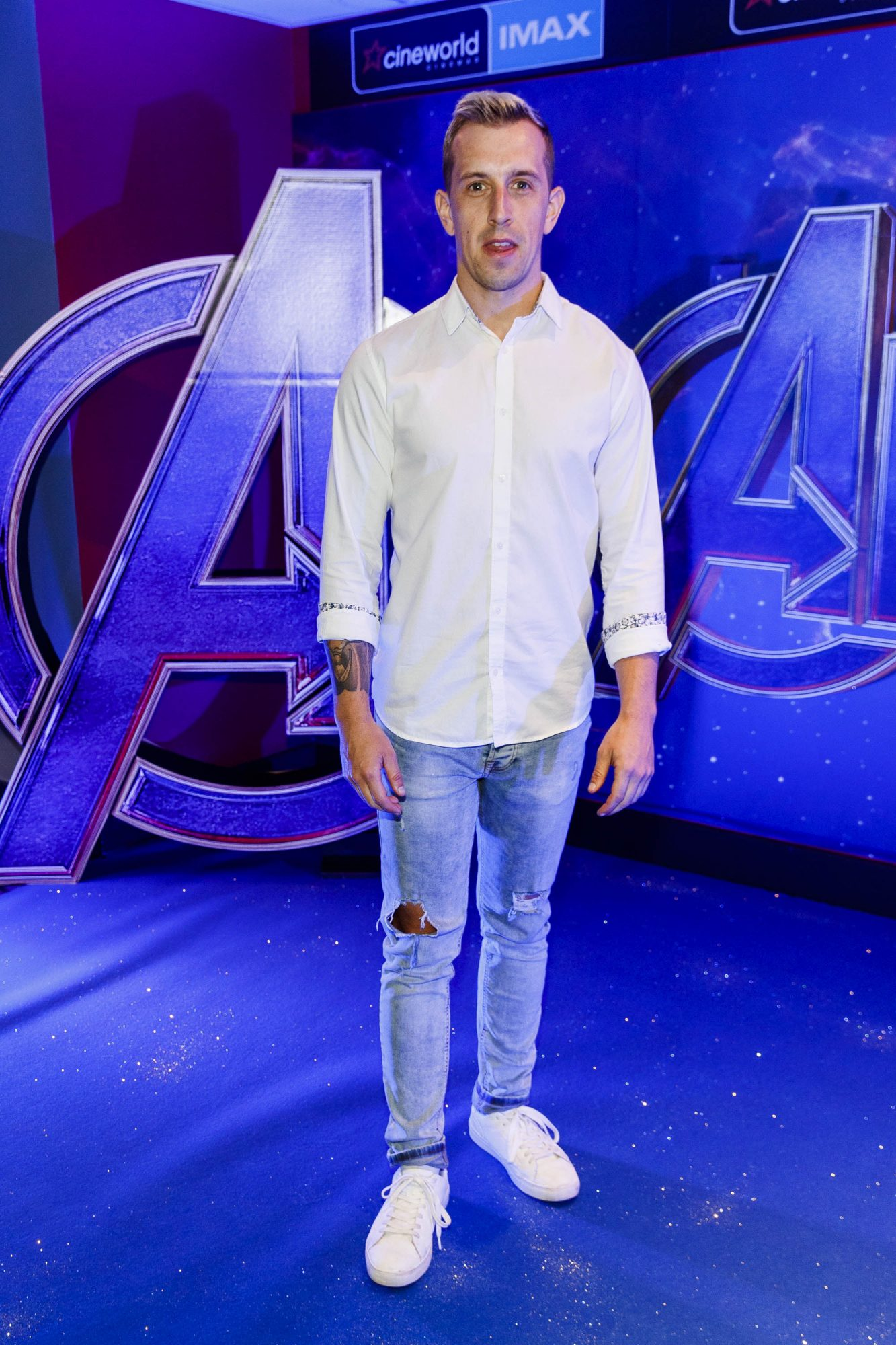 Luke O'Faolain pictured at the special preview screening of Marvel Studios' Avengers: Endgame at Cineworld Dublin. Picture by: Andres Poveda