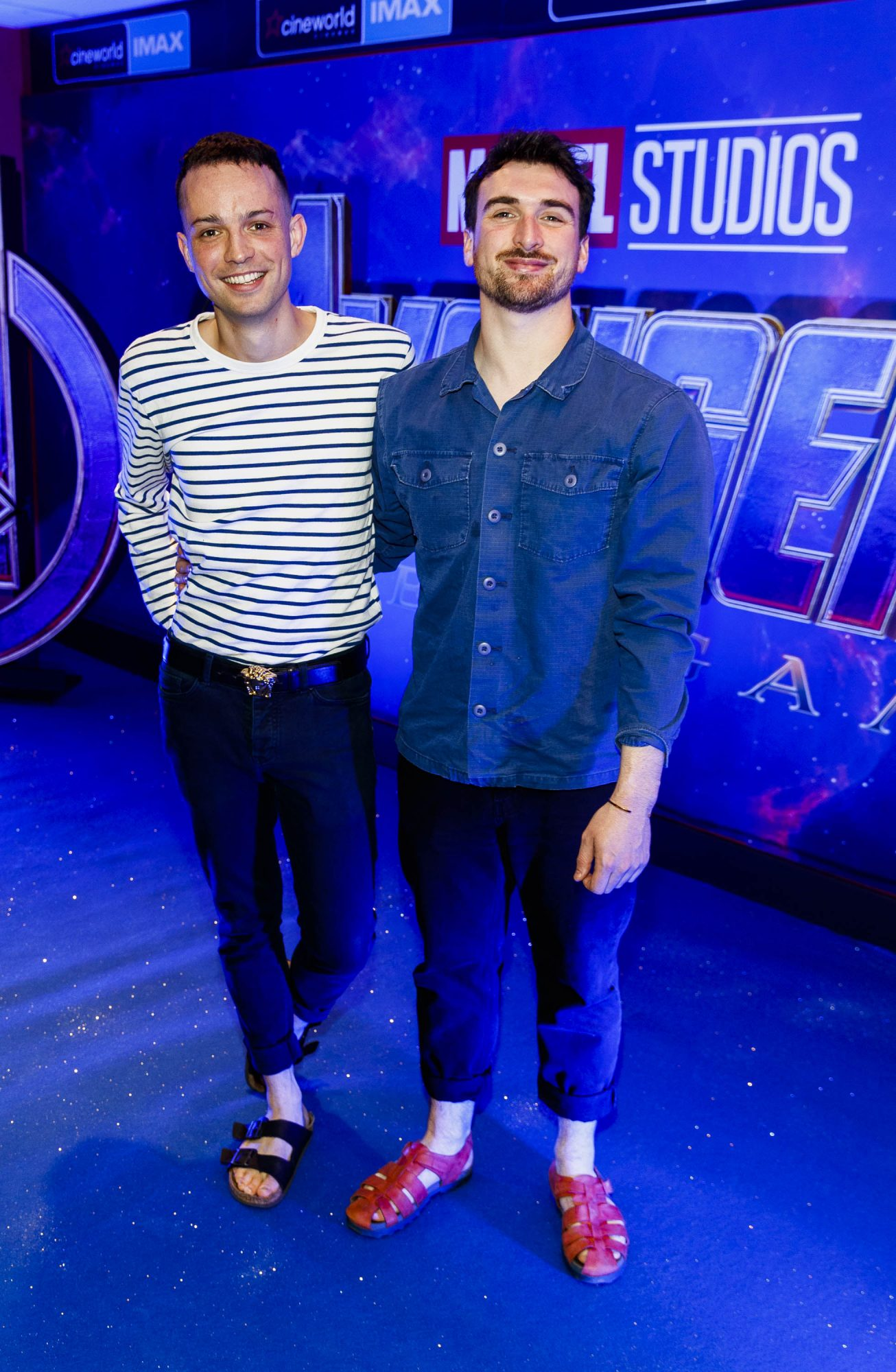 James Kavanagh and Will Murray pictured at the special preview screening of Marvel Studios' Avengers: Endgame at Cineworld Dublin. Picture by: Andres Poveda