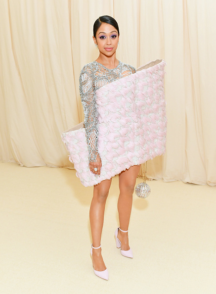 Liza Koshy attends The 2019 Met Gala Celebrating Camp: Notes on Fashion at Metropolitan Museum of Art on May 06, 2019 in New York City. (Photo by Mike Coppola/MG19/Getty Images for The Met Museum/Vogue )