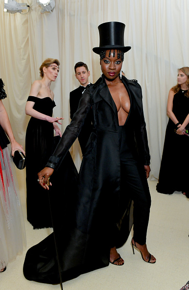 Danai Gurira attends The 2019 Met Gala Celebrating Camp: Notes on Fashion at Metropolitan Museum of Art on May 06, 2019 in New York City. (Photo by Mike Coppola/MG19/Getty Images for The Met Museum/Vogue )