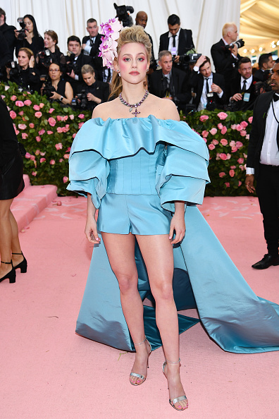 Lili Reinhart attends The 2019 Met Gala Celebrating Camp: Notes on Fashion at Metropolitan Museum of Art on May 06, 2019 in New York City. (Photo by Dimitrios Kambouris/Getty Images for The Met Museum/Vogue)