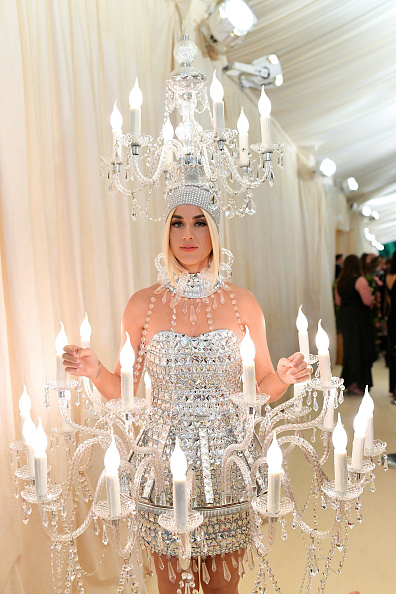 Katy Perry attends The 2019 Met Gala Celebrating Camp: Notes on Fashion at Metropolitan Museum of Art on May 06, 2019 in New York City. (Photo by Mike Coppola/MG19/Getty Images for The Met Museum/Vogue )