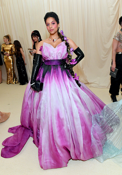Lilly Singh attends The 2019 Met Gala Celebrating Camp: Notes on Fashion at Metropolitan Museum of Art on May 06, 2019 in New York City. (Photo by Mike Coppola/MG19/Getty Images for The Met Museum/Vogue )