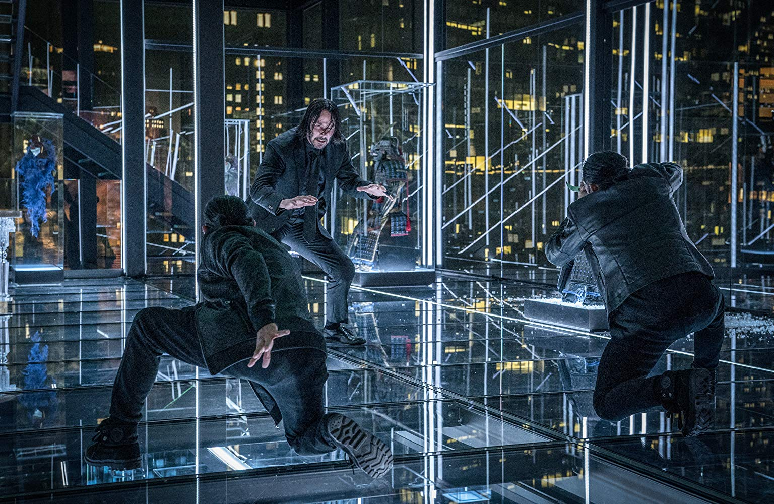 "Keanu Reeves in <a href=""https://entertainment.ie/cinema/movie-reviews/john-wick-chapter-3-parabellum-398028/"">John Wick: Chapter 3 - Parabellum</a>"