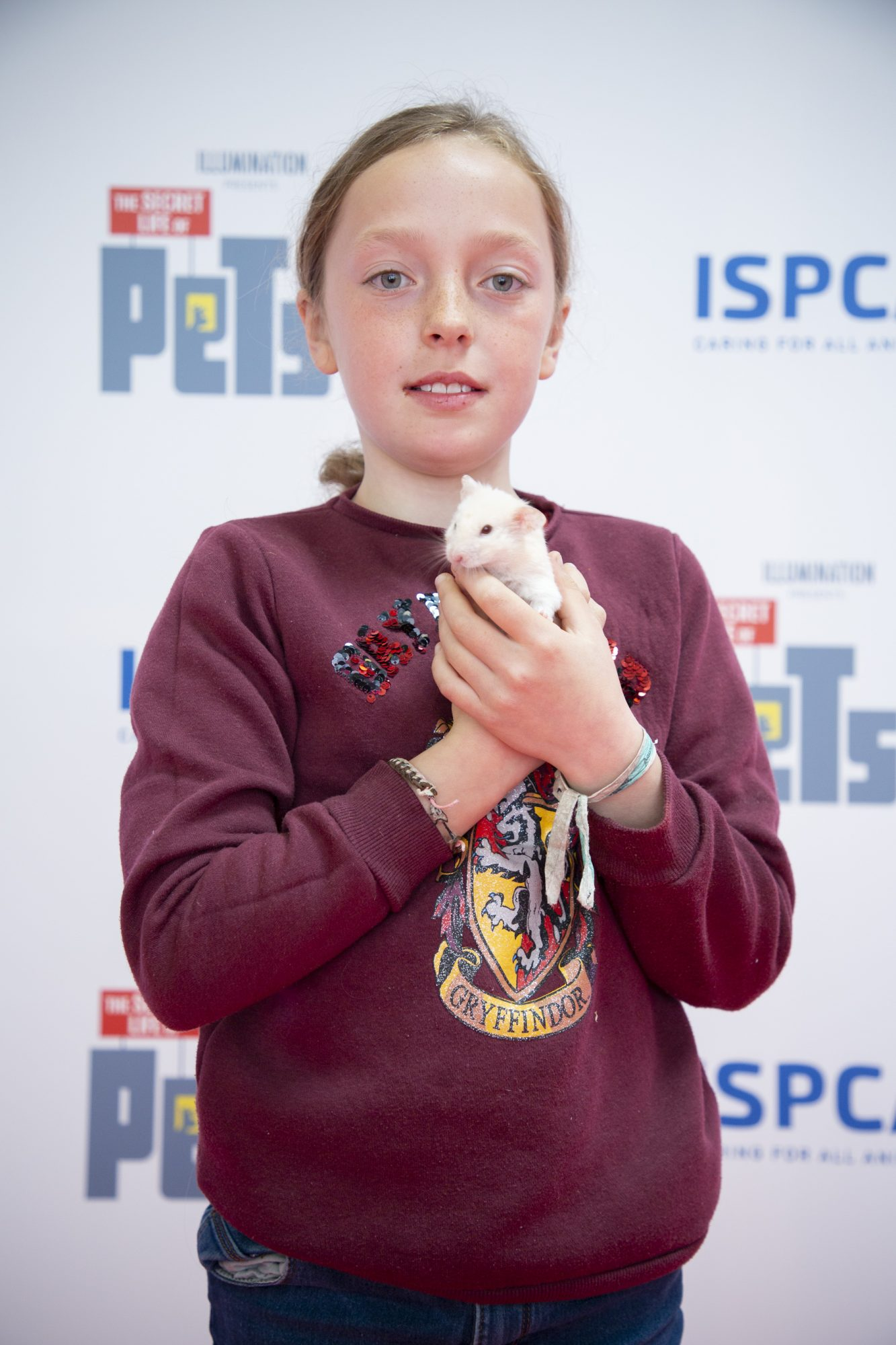 Molly Coyle & Ed pictured at the Irish premiere screening of The Secret Life of Pets 2 at Odeon Point Square, Dublin hosted by Universal Pictures in association with the ISPCA. The Secret Life of Pets 2 is in cinemas from Friday May 24th. Photo: Anthony Woods