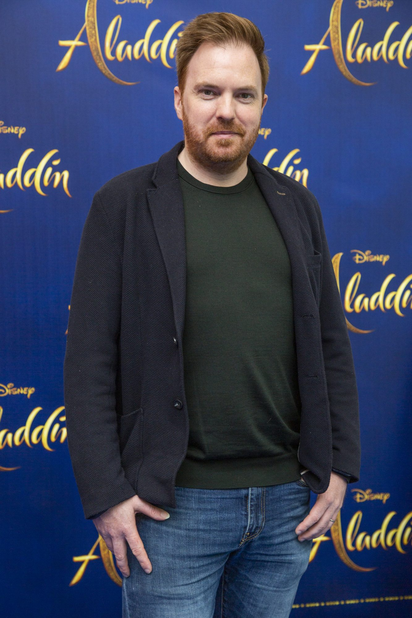 Bernard O'Shea pictured at the special preview screening of Disney's 'Aladdin' at the Odeon Point Village. Photo: Anthony Woods