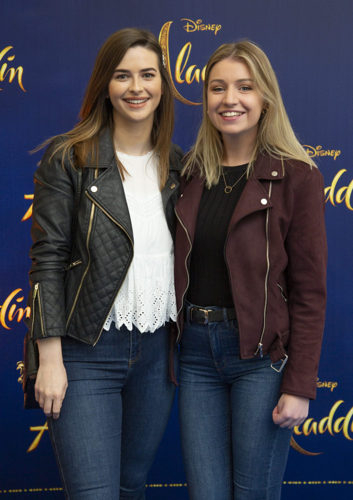 Lauren Dardis & Julie McCall pictured at the special preview screening of Disney's 'Aladdin' at the Odeon Point Village. Photo: Anthony Woods