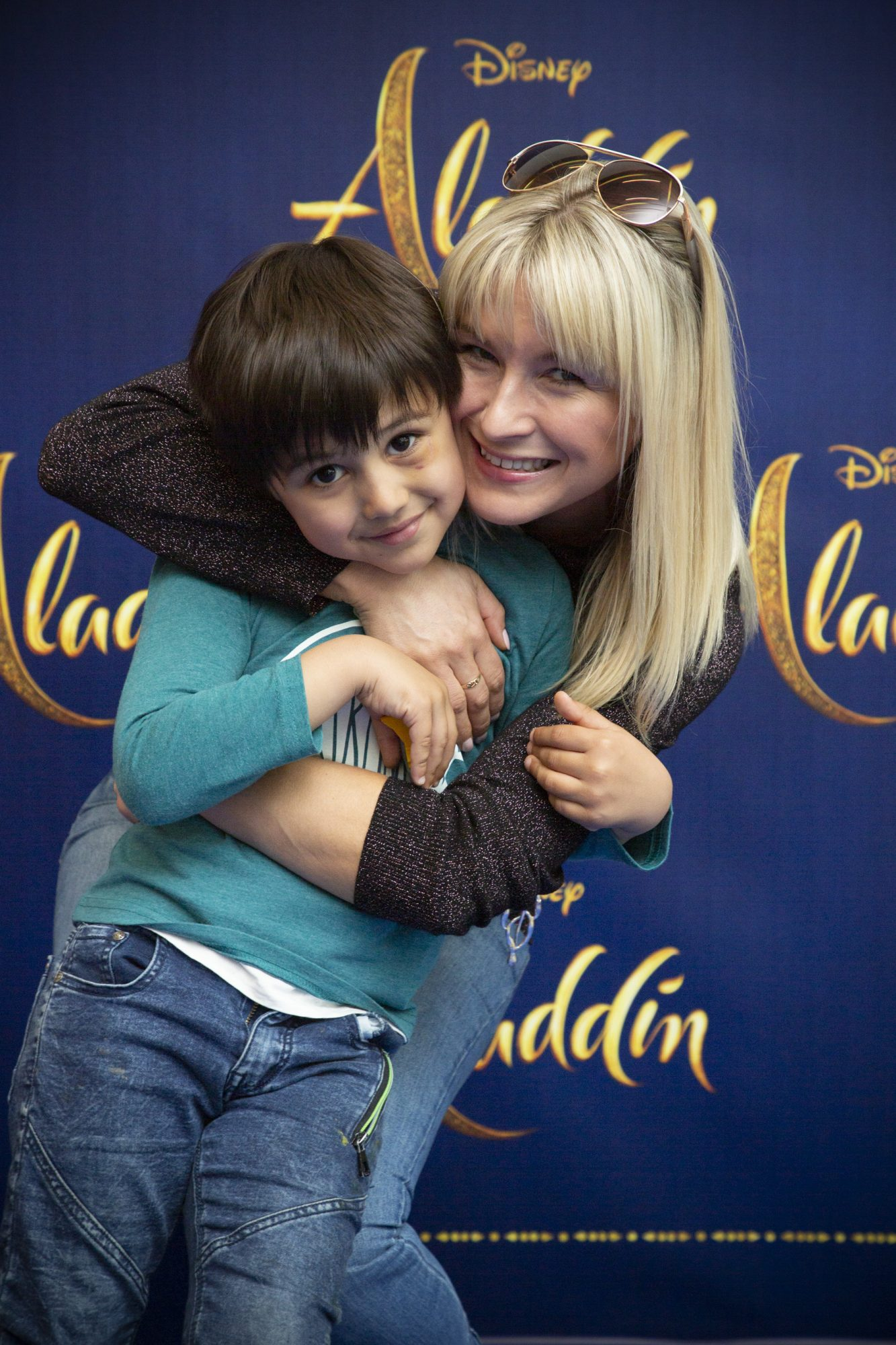 Michael Bux & Isabella Chudzicka pictured at the special preview screening of Disney's 'Aladdin' at the Odeon Point Village. Photo: Anthony Woods