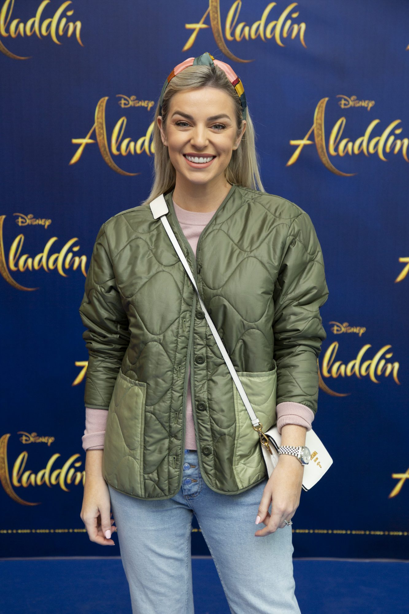 Pippa O'Connor pictured at the special preview screening of Disney's 'Aladdin' at the Odeon Point Village. Photo: Anthony Woods