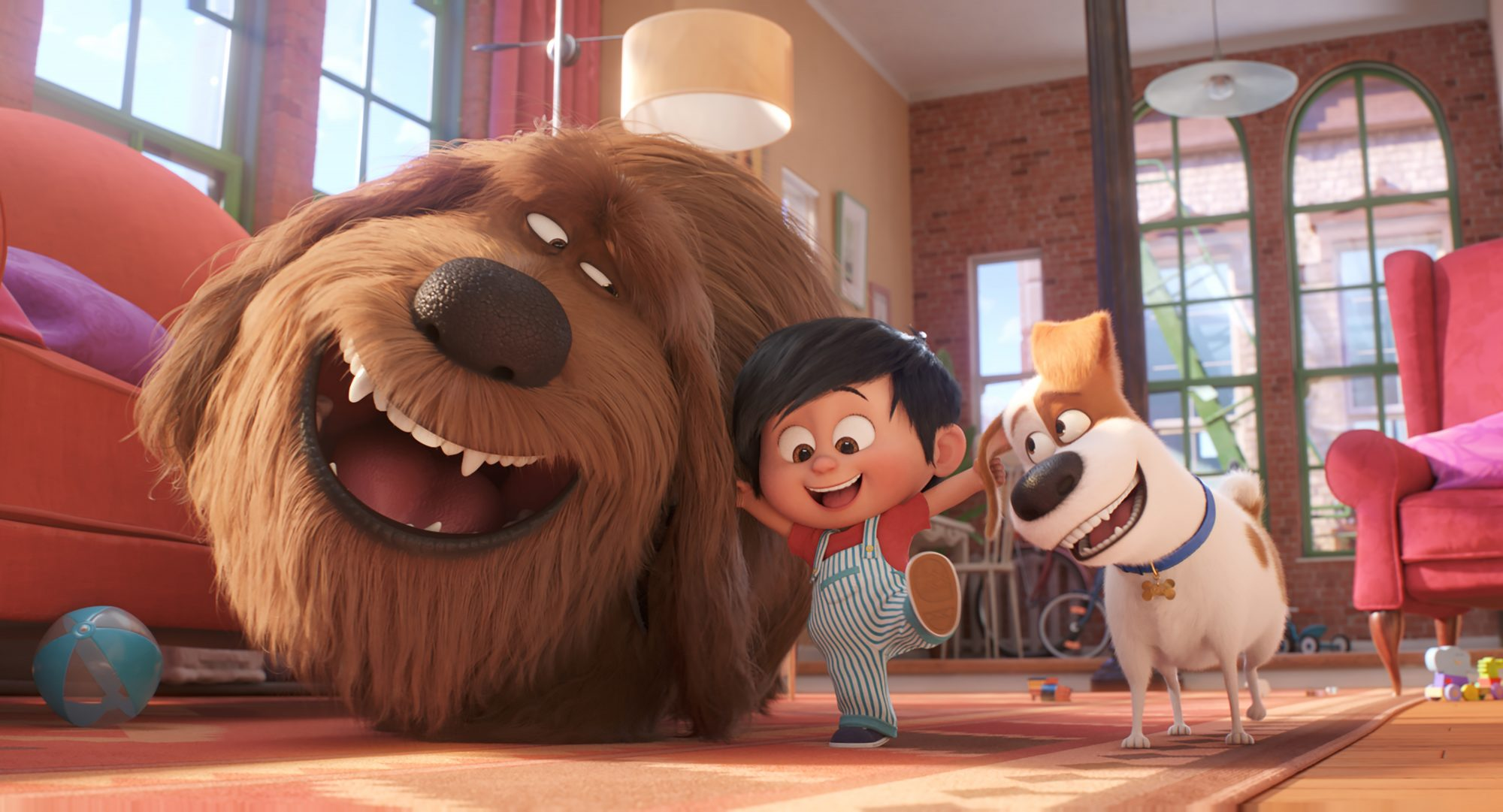 "Duke (Eric Stonestreet), Liam and Max (Patton Oswalt) in Illumination's<a href=""https://entertainment.ie/cinema/movie-reviews/the-secret-life-of-pets-2-393529/"">The Secret Life of Pets 2</a>, directed by Chris Renaud."