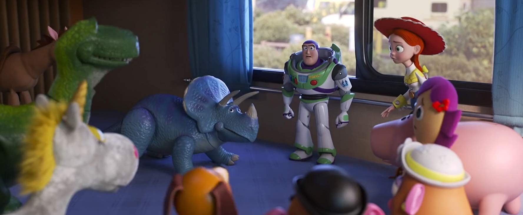 "Tim Allen, Wallace Shawn, Blake Clark, and Kristen Schaal in <a href=""https://entertainment.ie/cinema/movie-reviews/toy-story-4-394195/"">Toy Story 4</a>"