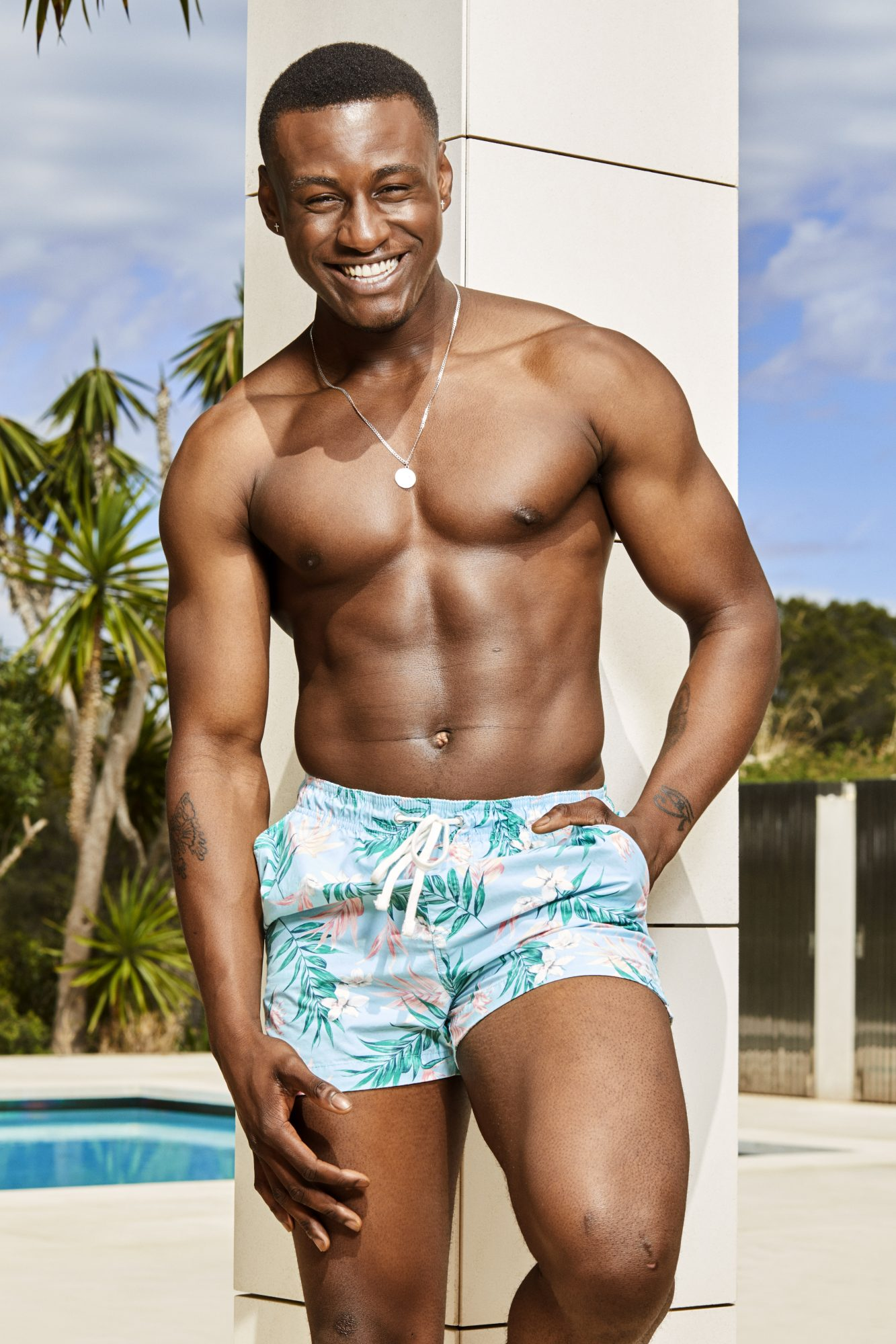 Love Island contestant Sherif Lanre, 20, is a chef and semi-pro rugby player from London.