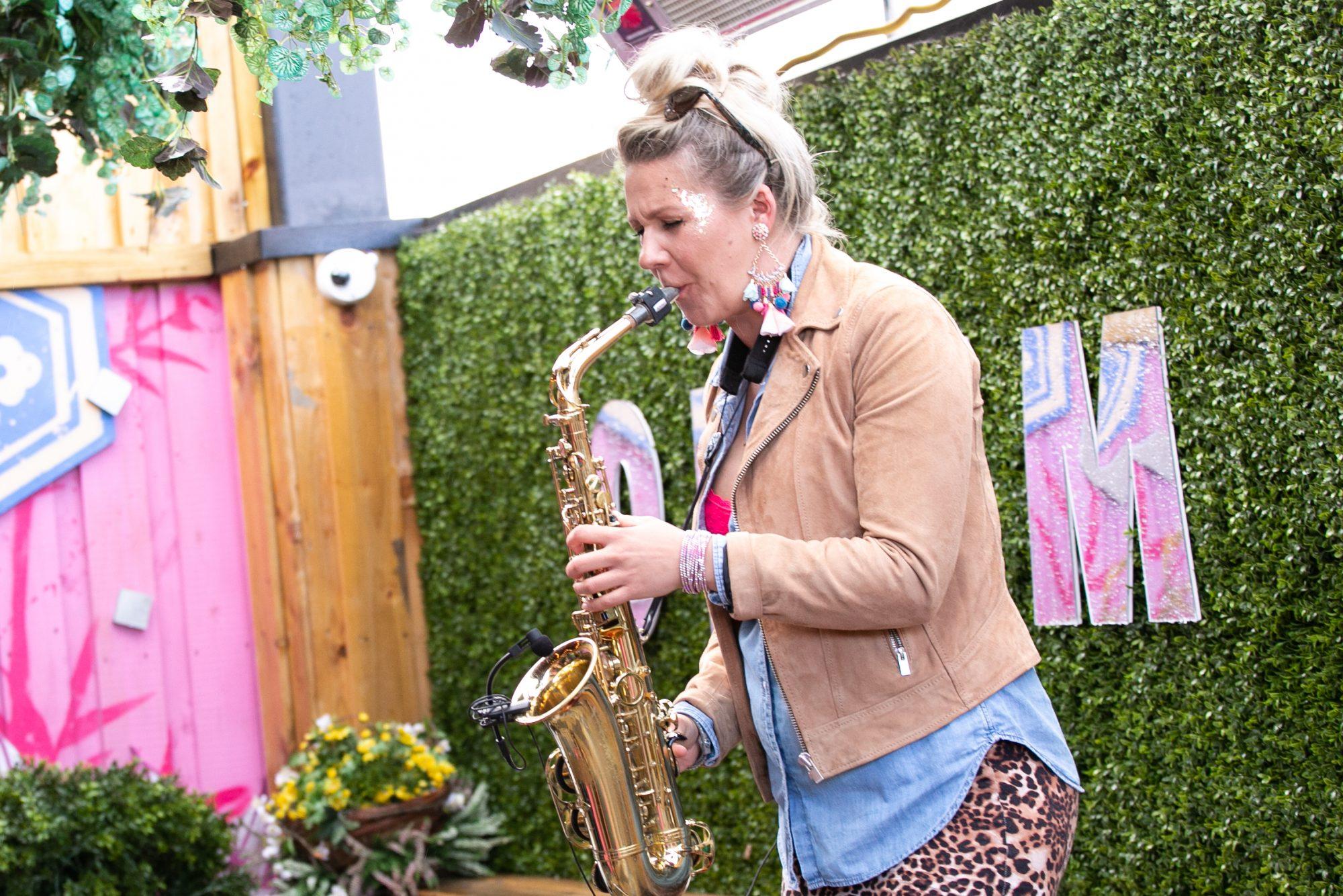 Natalia McGough at the SuperValu Gin Garden held at Opium Rooftop Garden, Dublin.