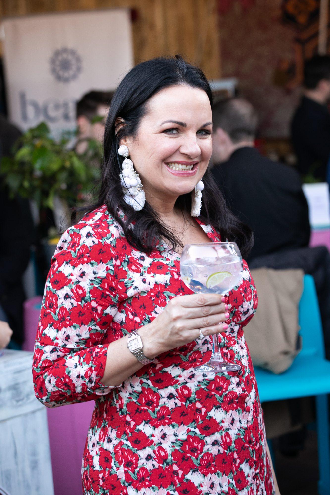 Triona McCarthy at the SuperValu Gin Garden held at Opium Rooftop Garden, Dublin.