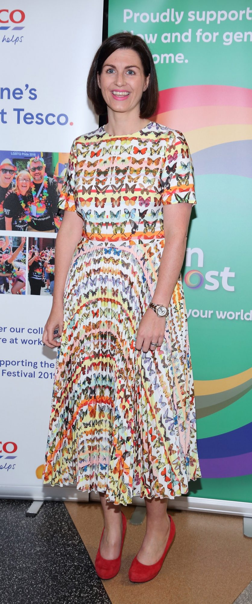 Aoife Beirne pictured at the launch of the Dublin LGBTQ+ Pride Festival 2019 in partnership with platinum sponsor Tesco at the GPO, Dublin. Picture: Brian McEvoy Photography