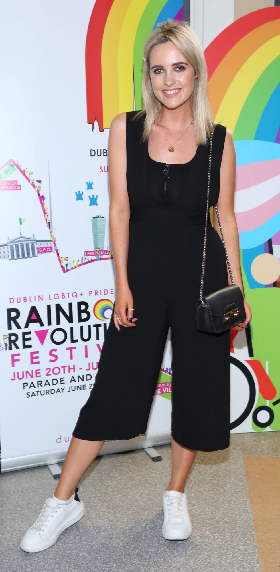 Lorna Duffy pictured at the launch of the Dublin LGBTQ+ Pride Festival 2019 in partnership with platinum sponsor Tesco at the GPO, Dublin. Picture: Brian McEvoy Photography