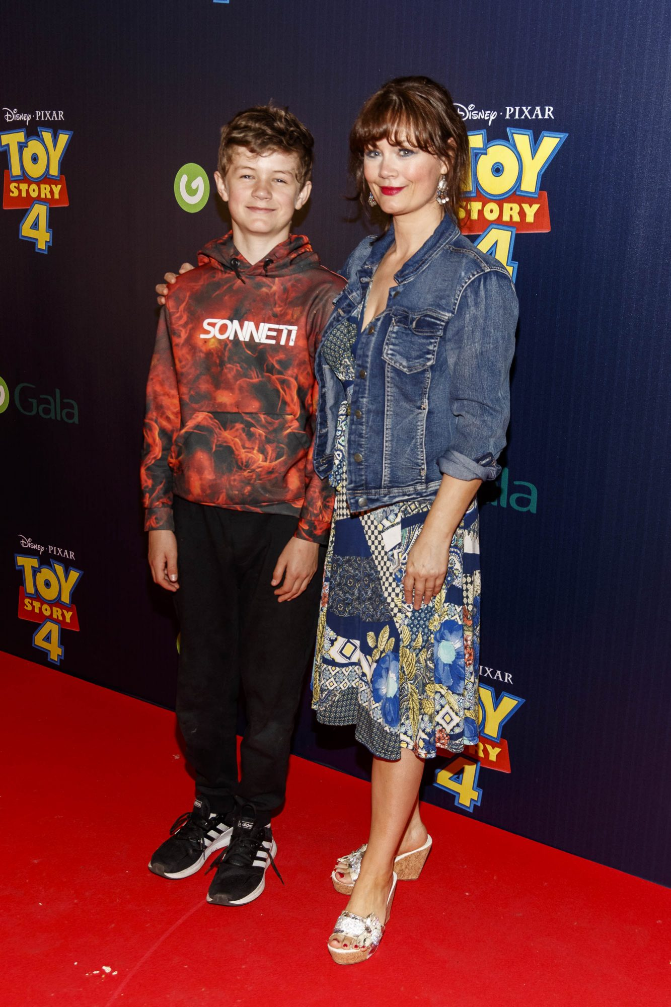 Rachel Pilkington and son Noah pictured at the special event screening of Disney Pixar's TOY STORY 4 in the Light House Cinema Dublin. Picture: Andres Poveda