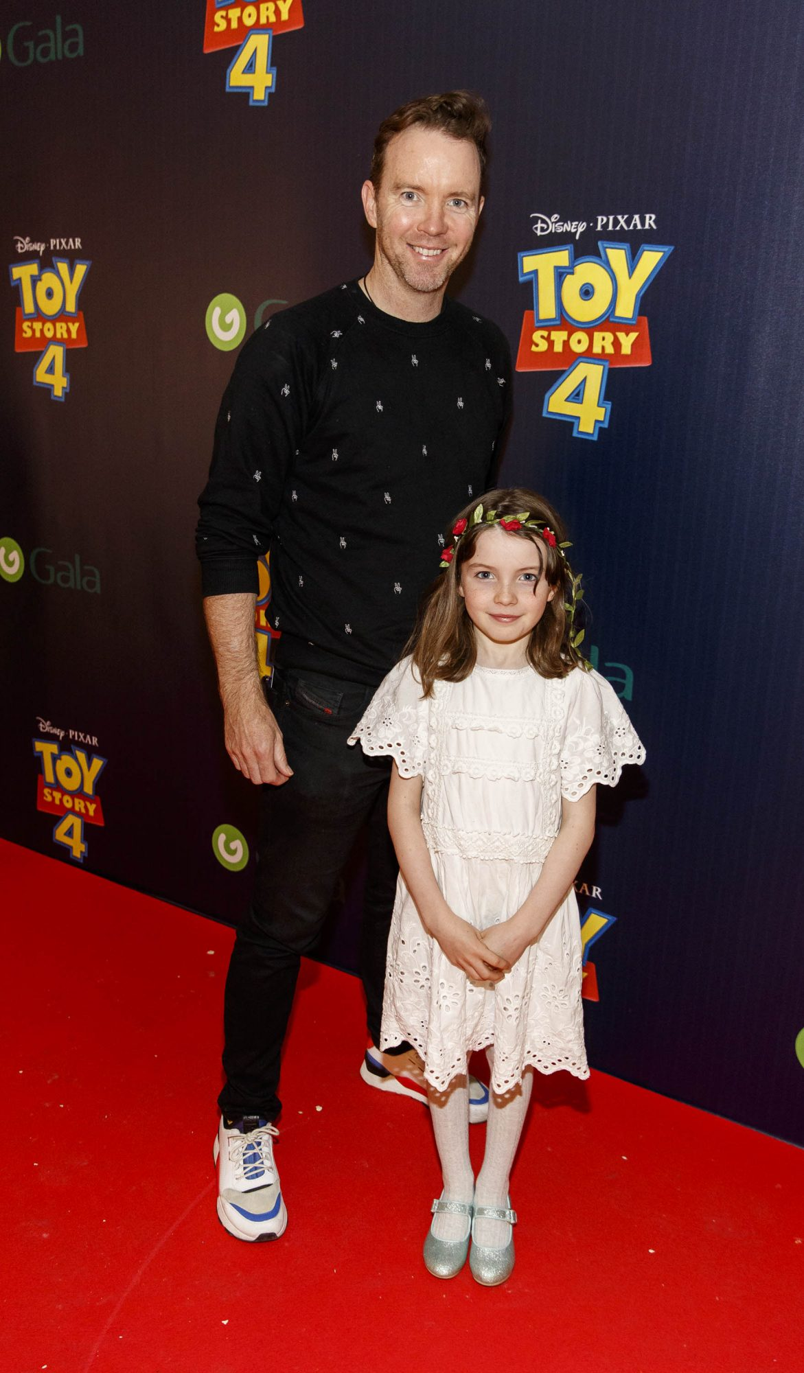 Dermot Whelan and daughter Rose pictured at the special event screening of Disney Pixar's TOY STORY 4 in the Light House Cinema Dublin. Picture: Andres Poveda