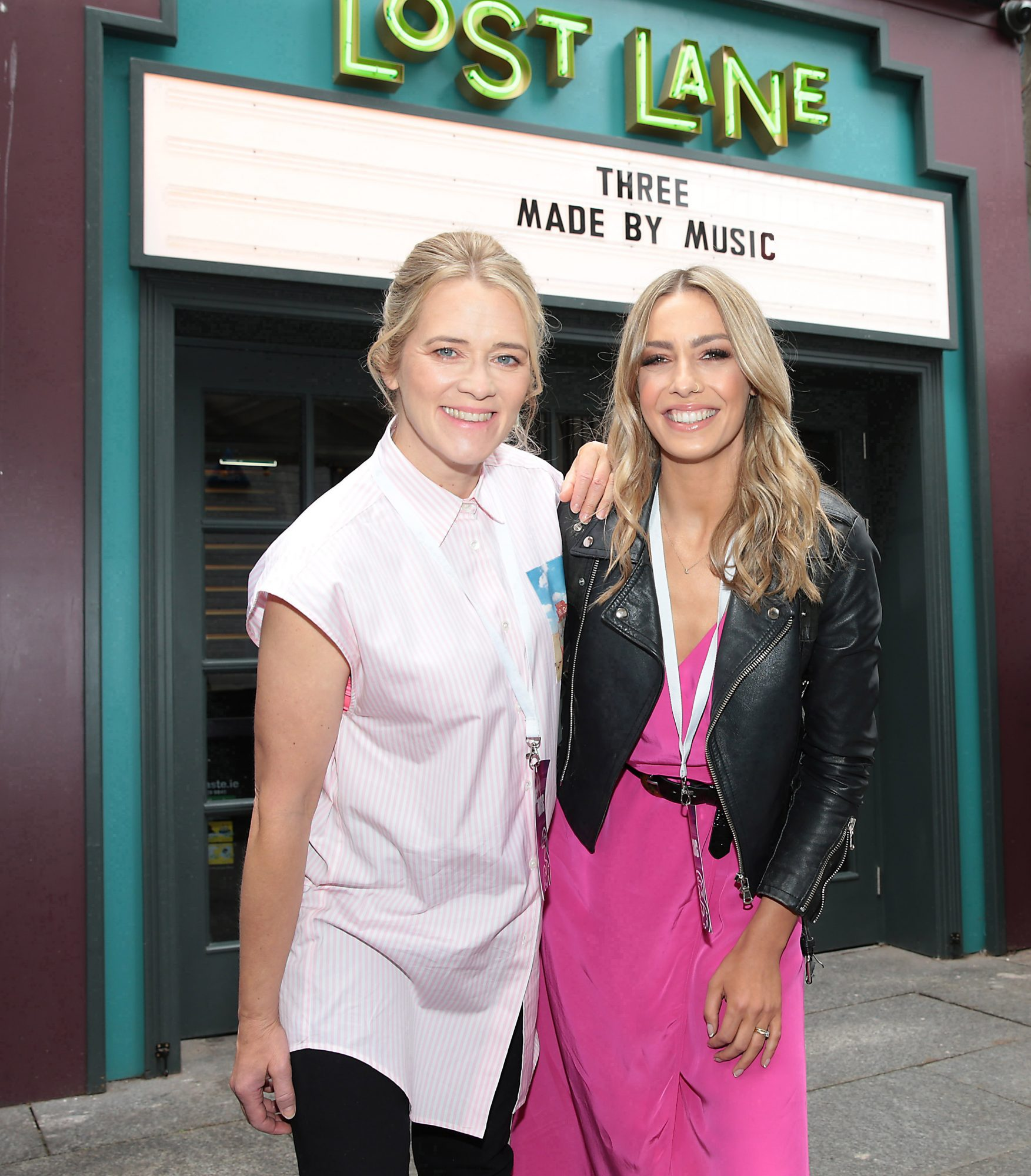 Edith Bowman and Bláthnaid Treacy pictured at the launch of Three's MadeByMusic 2019 at Lost Lane. Three Ireland has unveiled its plans for this year's 'Made by Music' initiative, an innovative move which seeks to demonstrate the human connections that music creates by collaborating with some of Ireland's best artists from the thriving Irish music scene. Picture: Brian McEvoy