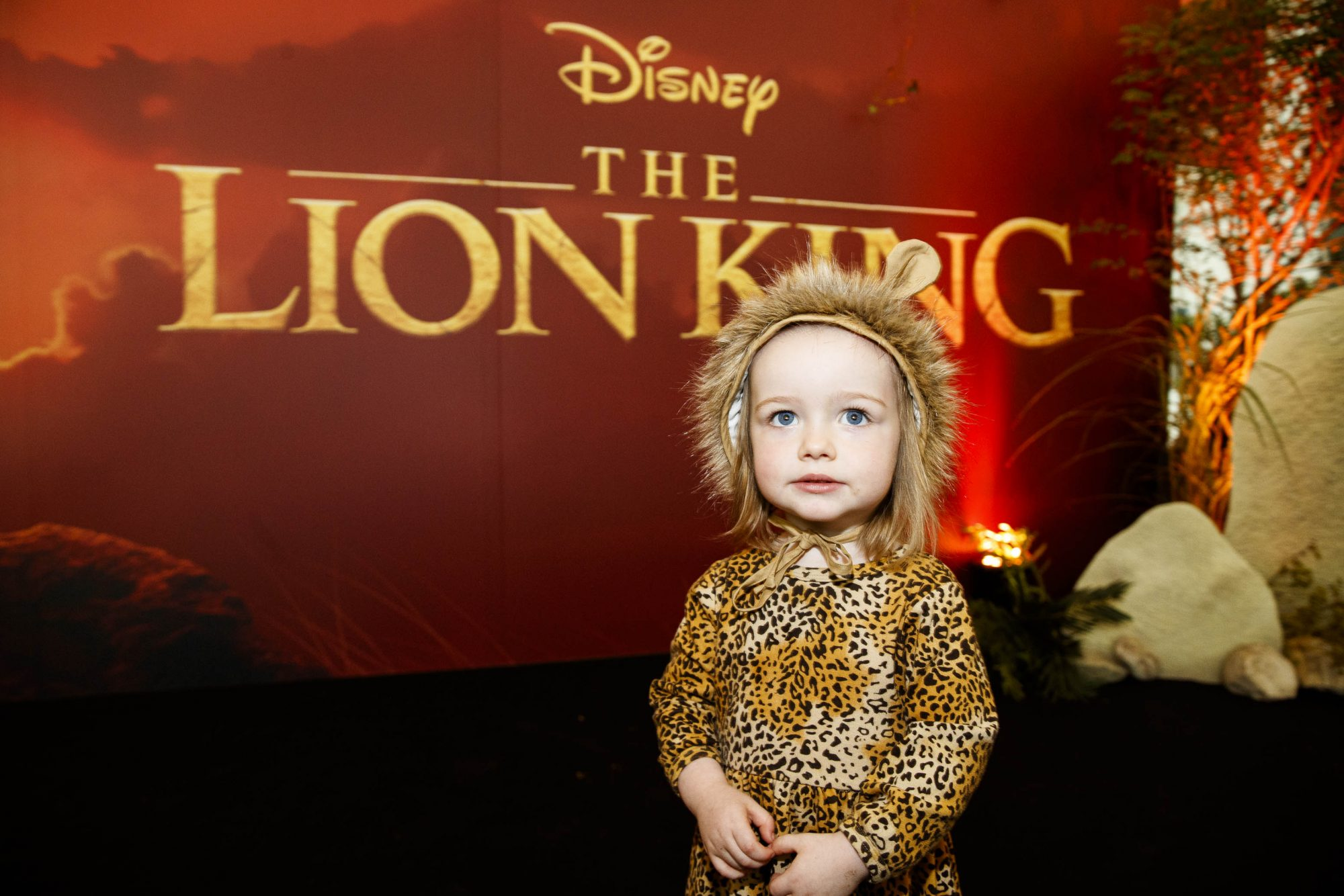 Marnie Lynch (2) pictured at a special family screening of Disney's THE LION KING at the Odeon Point Village. Picture: Andres Poveda