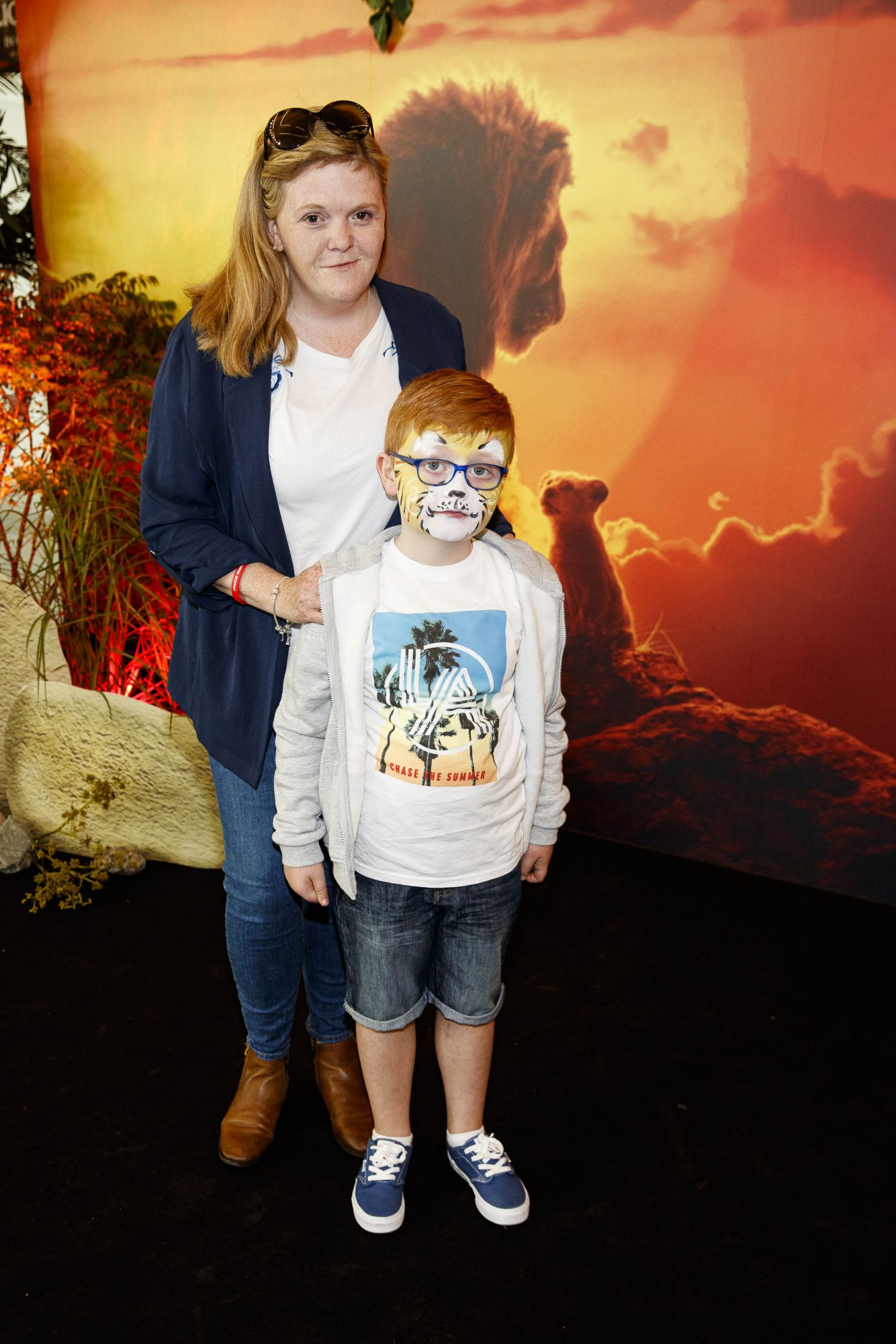Lynne Caden Reid-Walsh (6) pictured at a special family screening of Disney's THE LION KING at the Odeon Point Village. Picture Andres Poveda