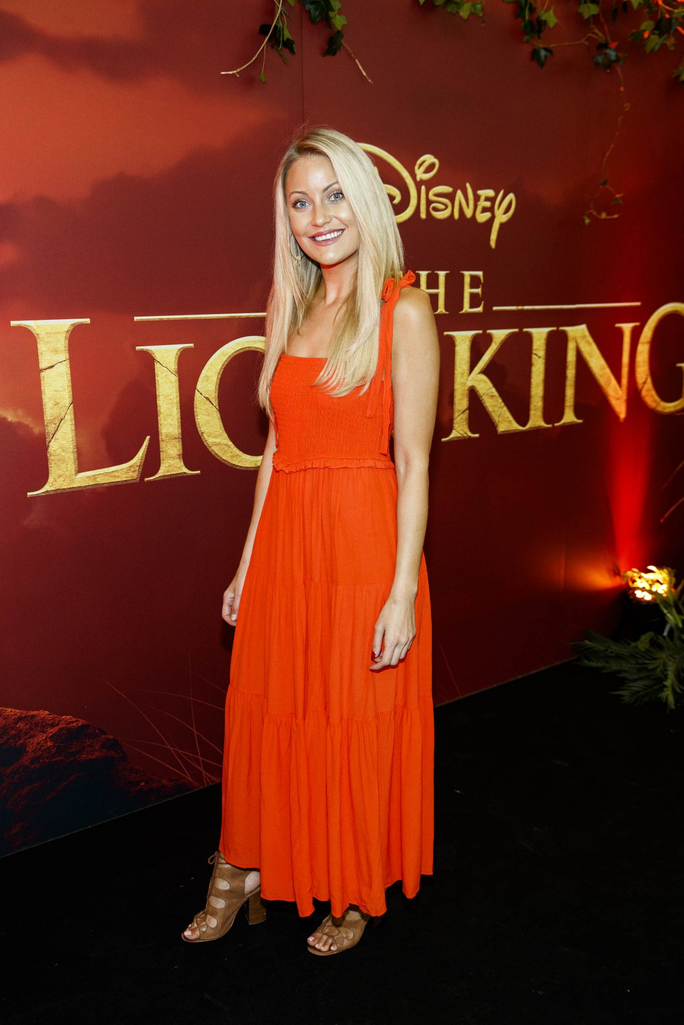 erri Nicole Blanc pictured at a special family screening of Disney's THE LION KING at the Odeon Point Village. Picture: Andres Poveda