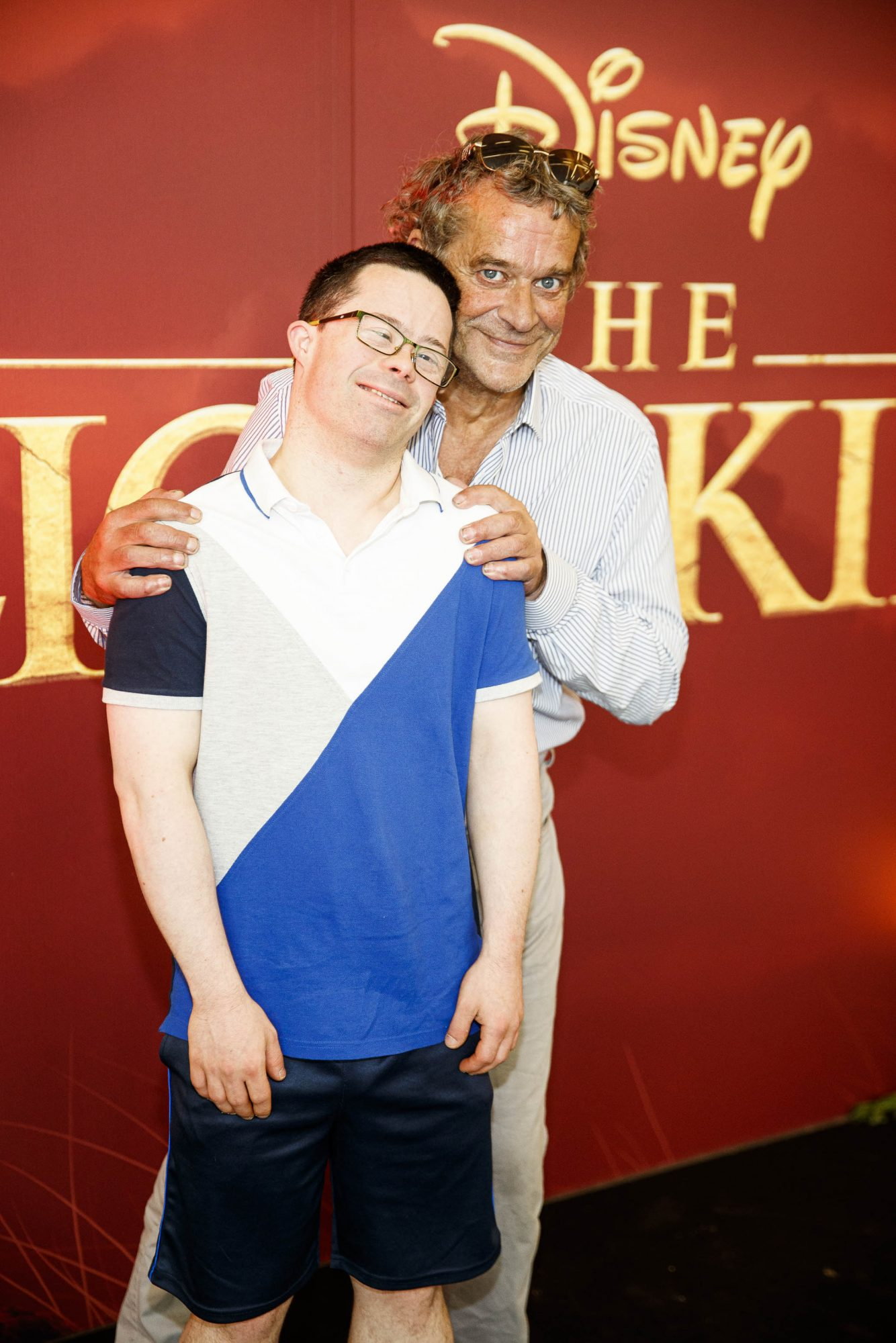 Cian O'Connor and Eanna O'Coonor pictured at a special family screening of Disney's THE LION KING at the Odeon Point Village. Picture: Andres Poveda