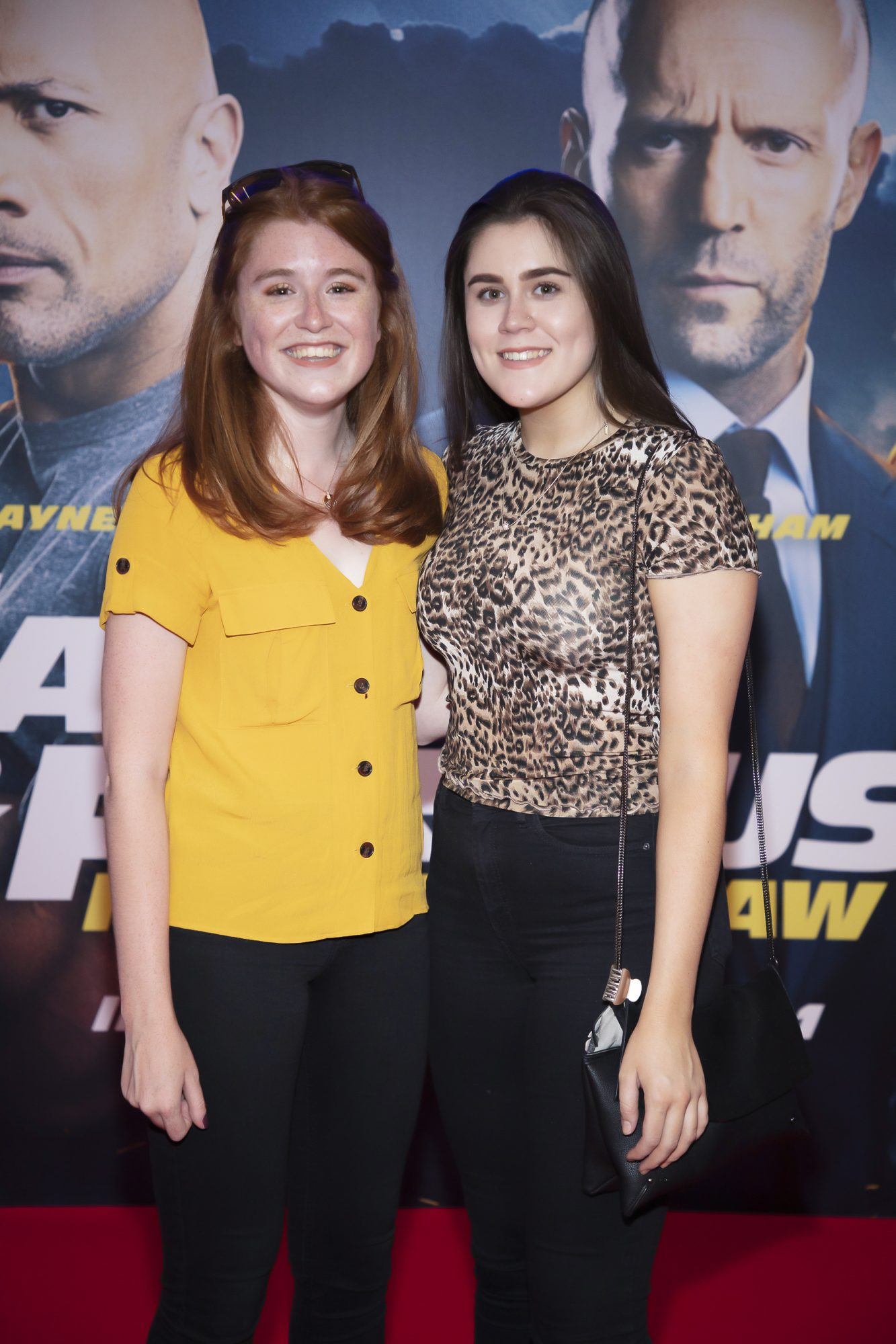 Bláithín Willis & Orlagh Willis pictured at a special preview screening of Fast & Furious Presents: Hobbs & Shaw. Photo: Anthony Woods