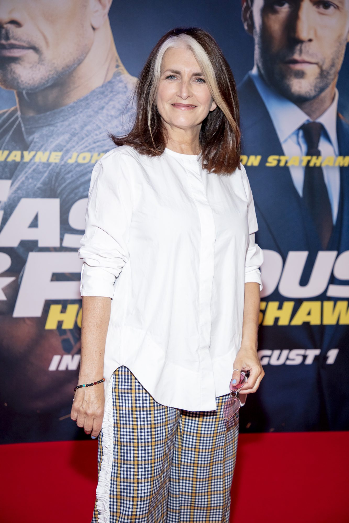 Cathy O'Connor pictured at a special preview screening of Fast & Furious Presents: Hobbs & Shaw. Photo: Anthony Woods