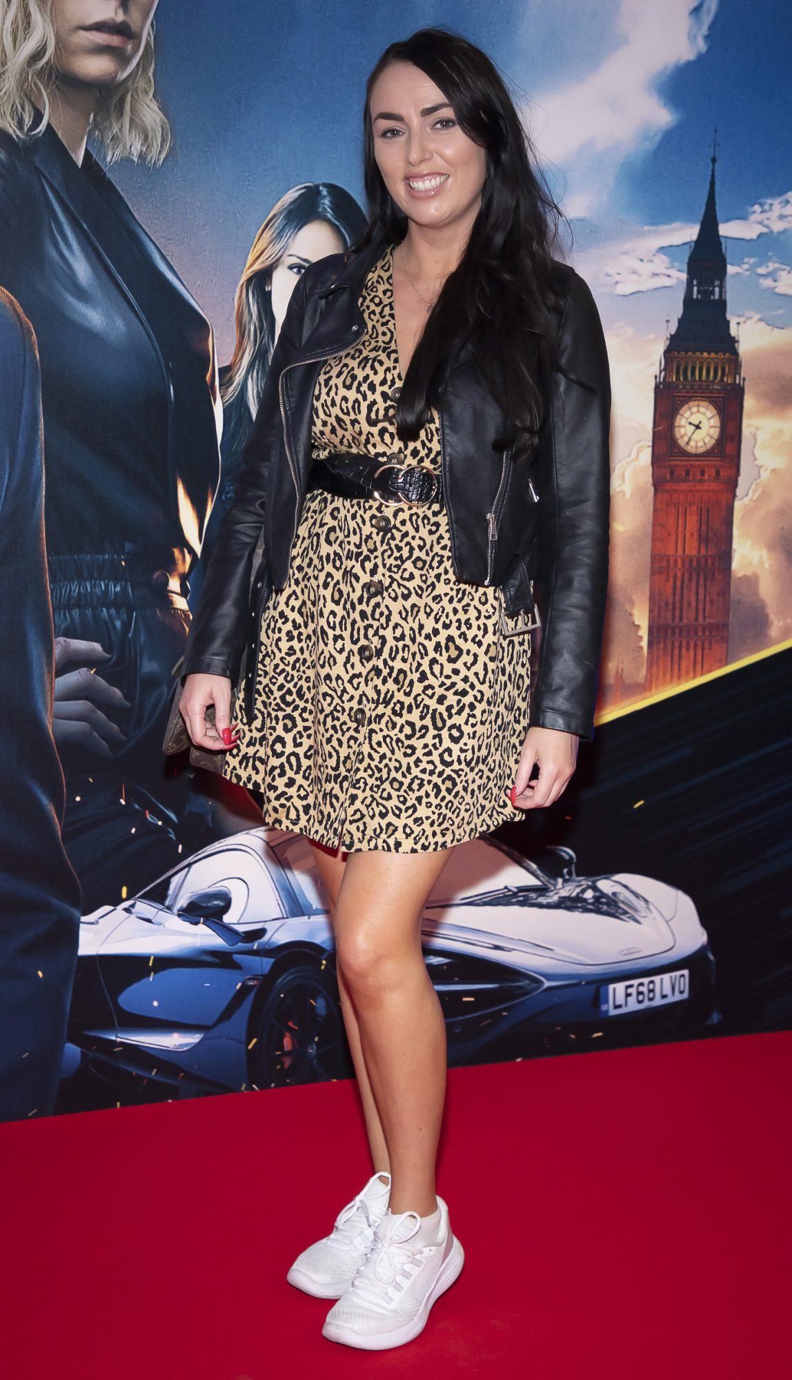 Ellie Sutton pictured at a special preview screening of Fast & Furious Presents: Hobbs & Shaw. Photo: Anthony Woods