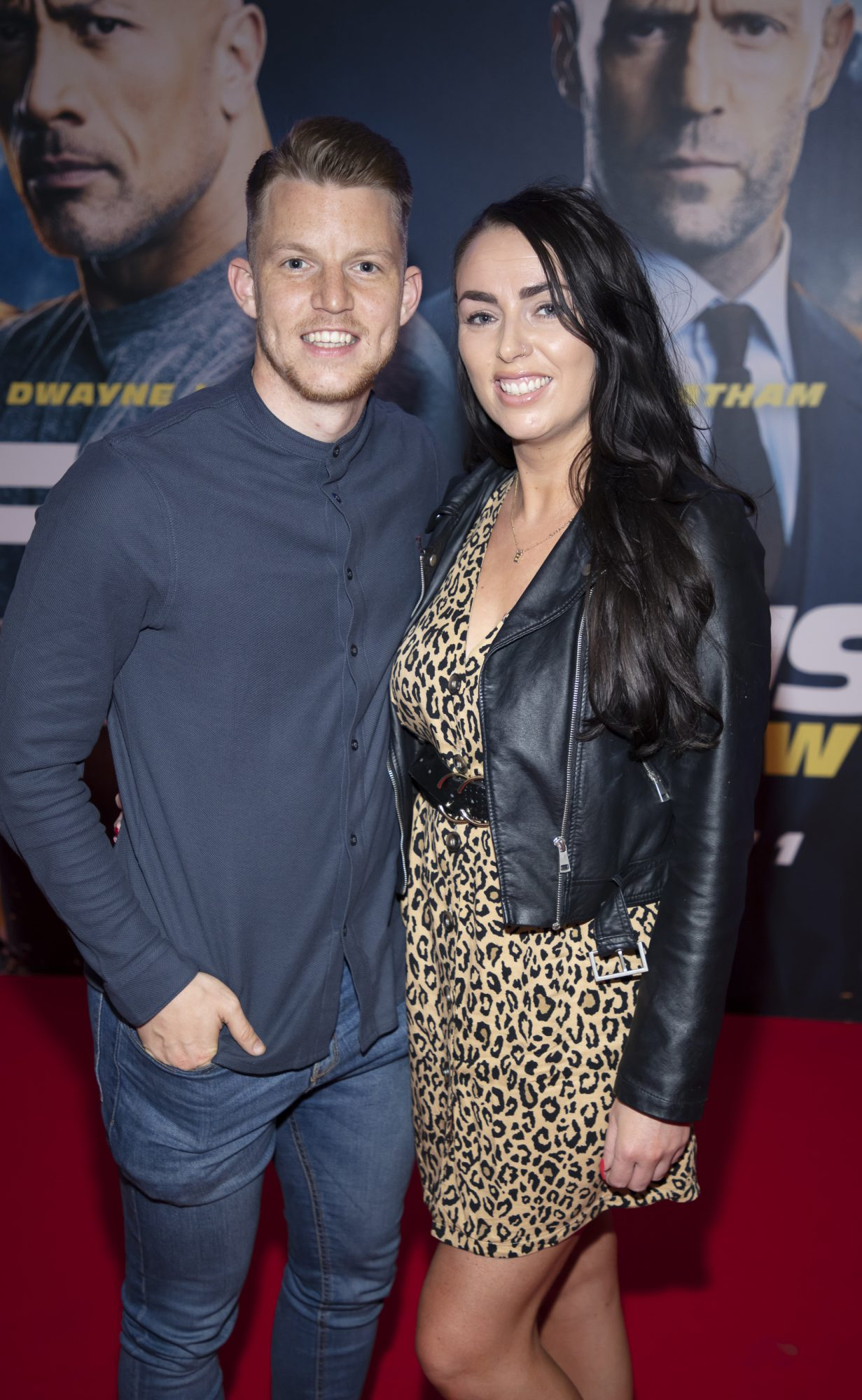 Ian Byrne & Ellie Sutton pictured at a special preview screening of Fast & Furious Presents: Hobbs & Shaw. Photo: Anthony Woods