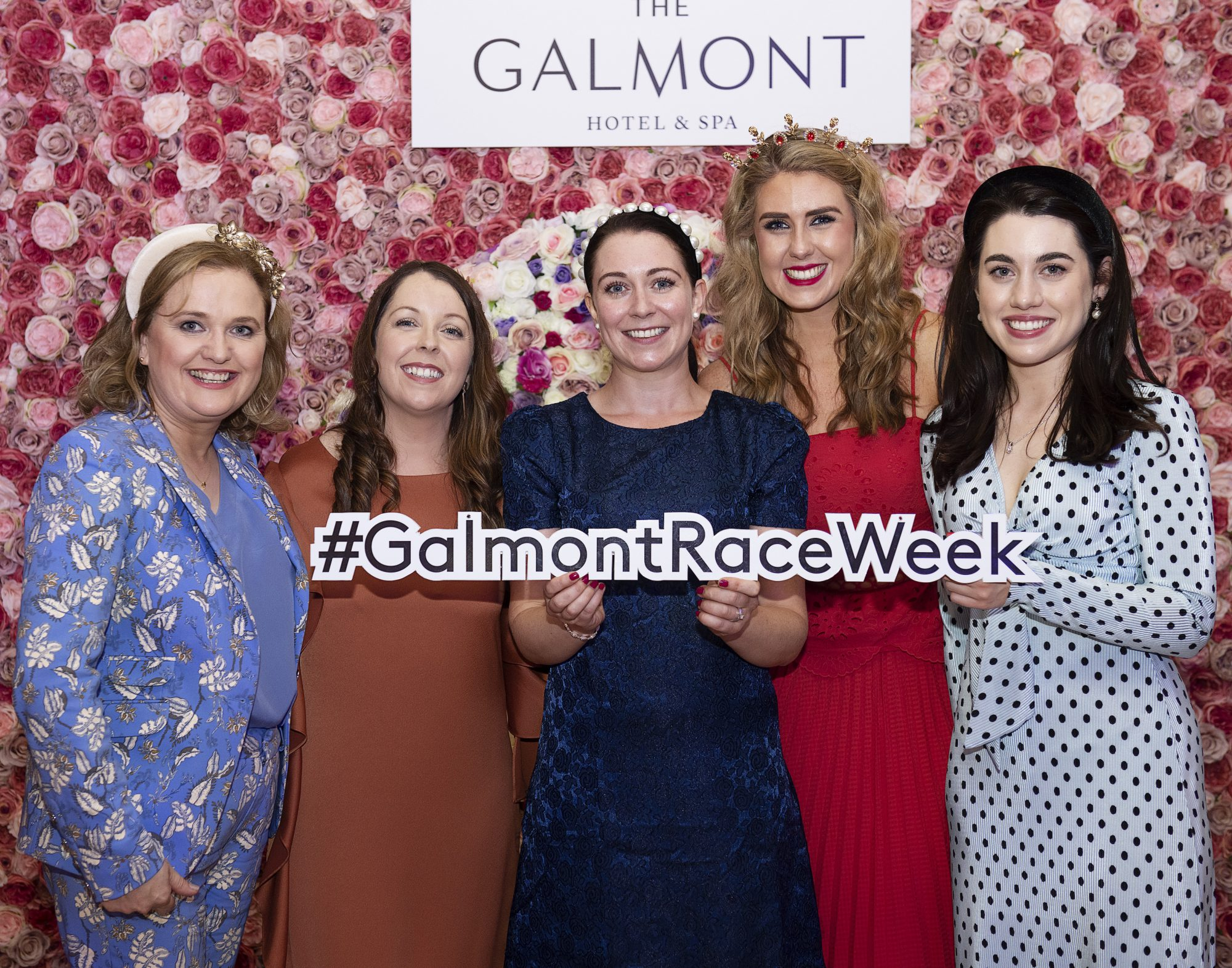 Karen Jones, Yvonne Cashin, X, Olwyn Sherry, Louise O'Donnellan at the #GalmontGirlsSquad competition in the Galmont Hotel and Spa in Galway City. Photo: Andrew Downes, xposure