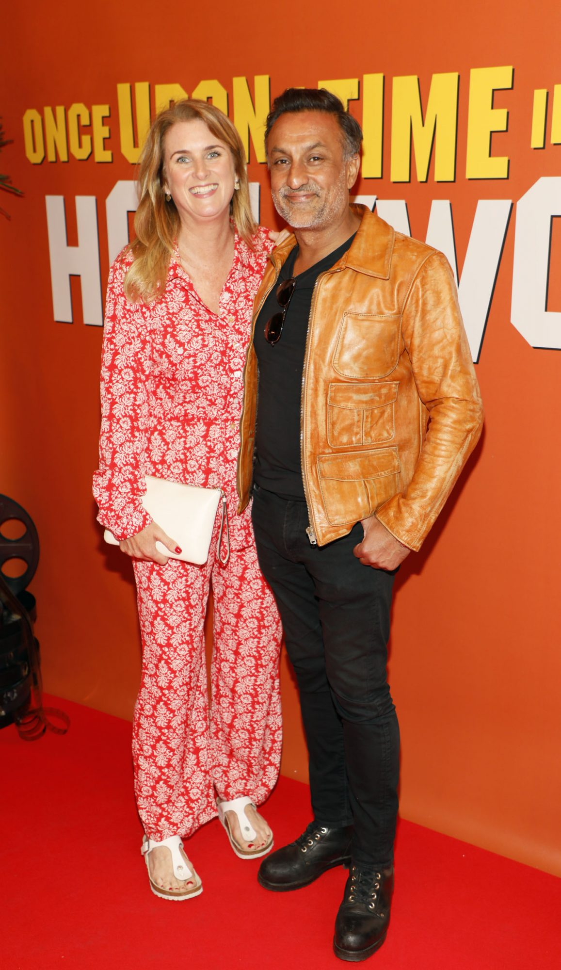 Audrey Sheils and Vik Kumar at the Multimedia Screening of Once Upon A Time In Hollywood at the Stella Theatre, Rathmines, in cinema August 14th. Photo: Kieran Harnett