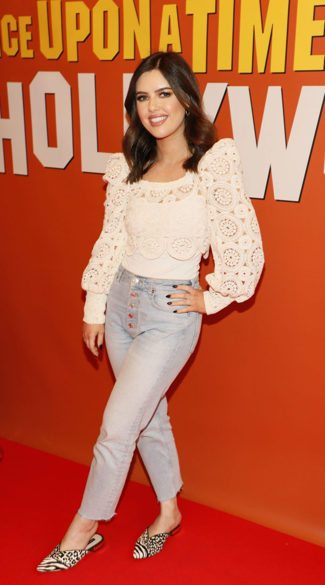 Bonnie Ryan at the MMultimedia Screening of Once Upon A Time In Hollywood at the Stella Theatre, Rathmines, in cinema August 14th. Photo: Kieran Harnett