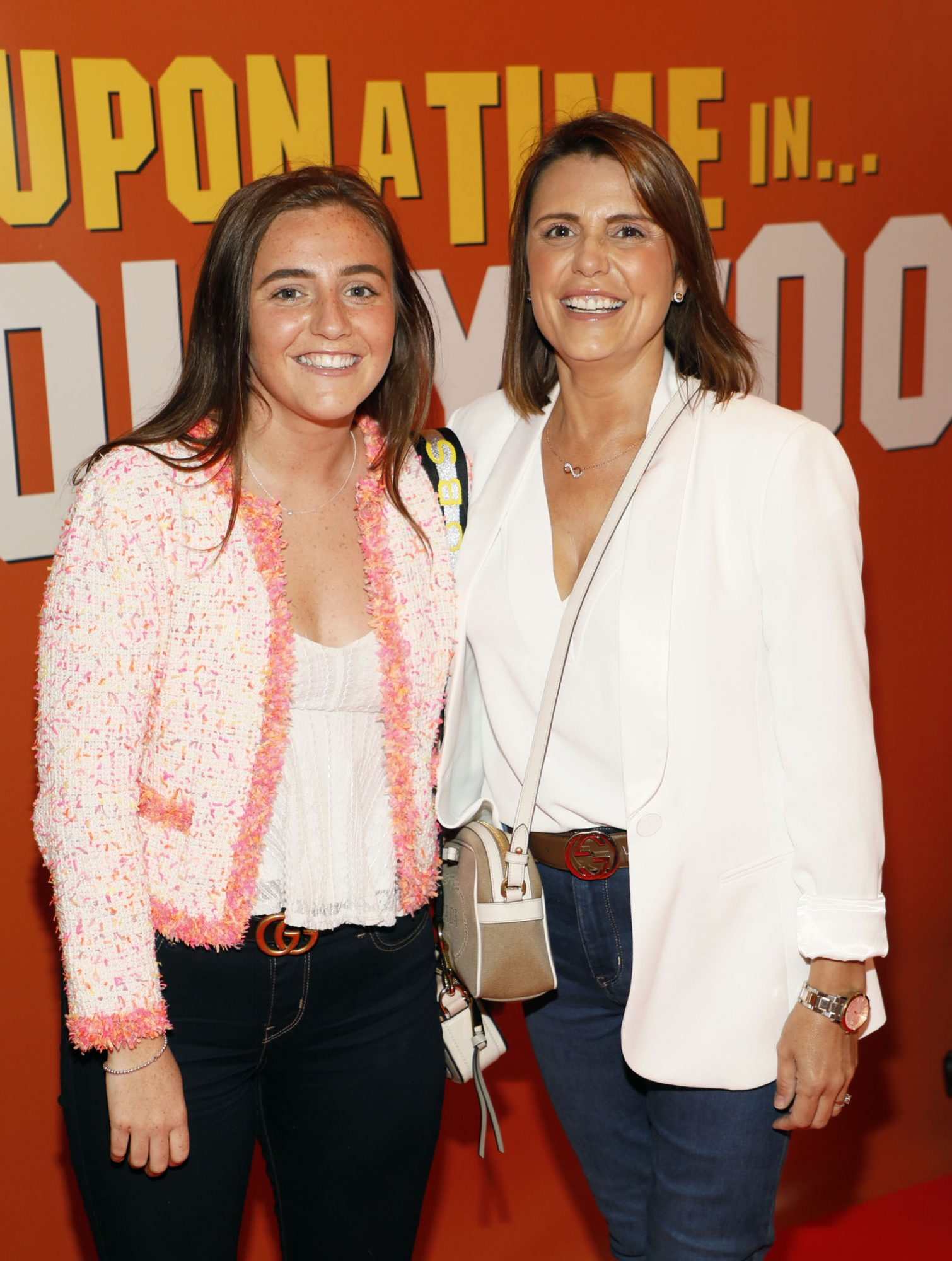 Danielle Clerkin and Cora Halpin at the Multimedia Screening of Once Upon A Time In Hollywood at the Stella Theatre, Rathmines, in cinema August 14th. Photo: Kieran Harnett