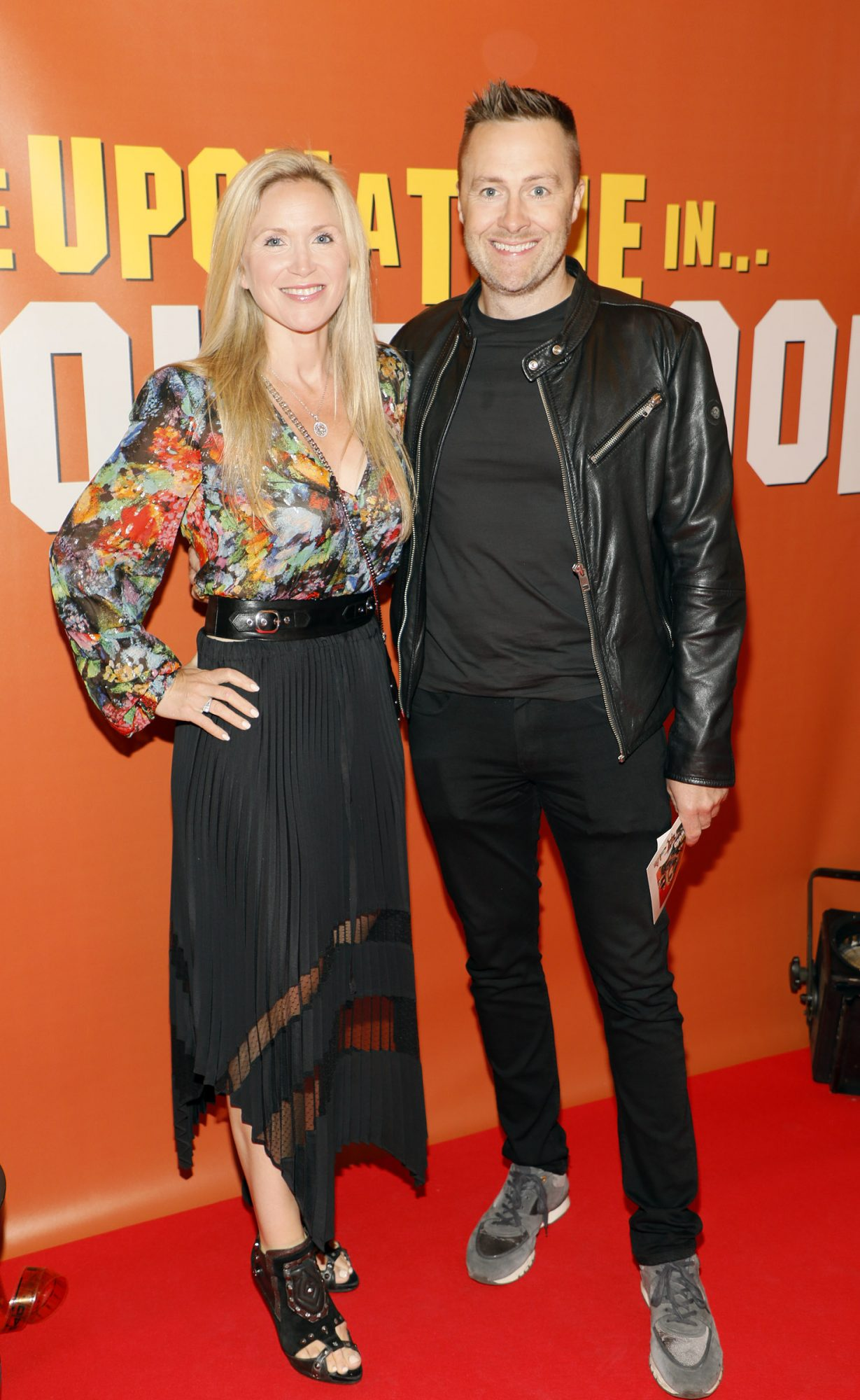 Mairead and Keith Barry at the Multimedia Screening of Once Upon A Time In Hollywood at the Stella Theatre, Rathmines, in cinema August 14th. Photo: Kieran Harnett