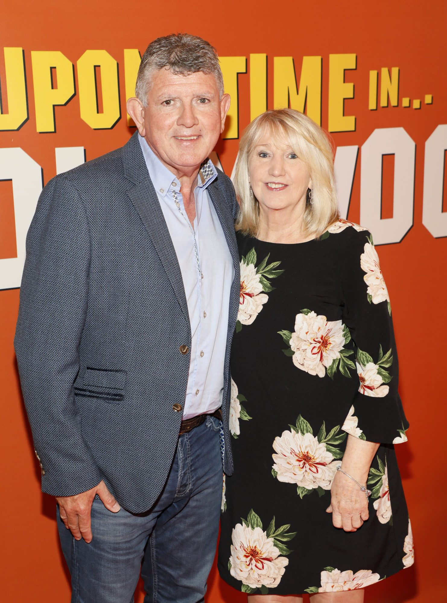 Paul and Tina Keegan at the Multimedia Screening of Once Upon A Time In Hollywood at the Stella Theatre, Rathmines, in cinema August 14th. Photo: Kieran Harnett