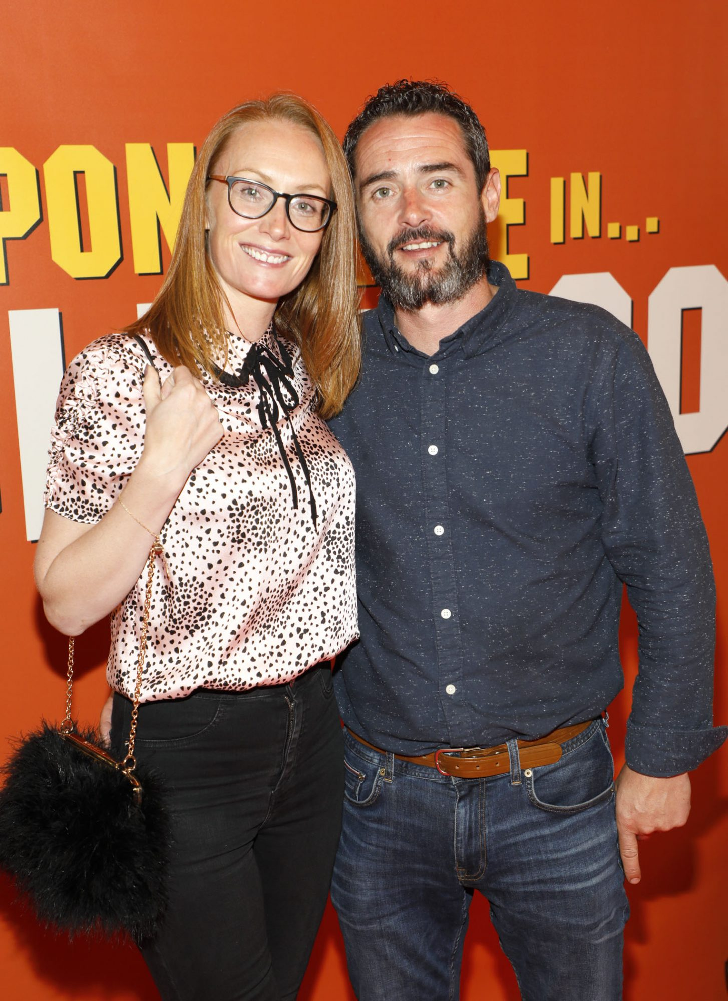 Sharon Doyle and Conor Swedell at the Multimedia Screening of Once Upon A Time In Hollywood at the Stella Theatre, Rathmines, in cinema August 14th. Photo: Kieran Harnett