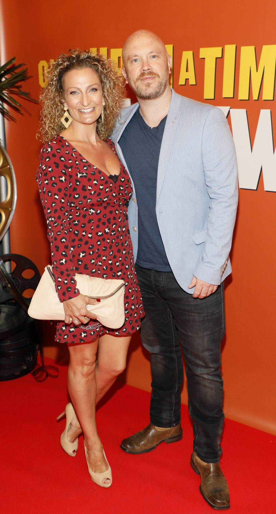 Susan and Ryan Sheridan at the Multimedia Screening of Once Upon A Time In Hollywood at the Stella Theatre, Rathmines, in cinema August 14th. Photo: Kieran Harnett