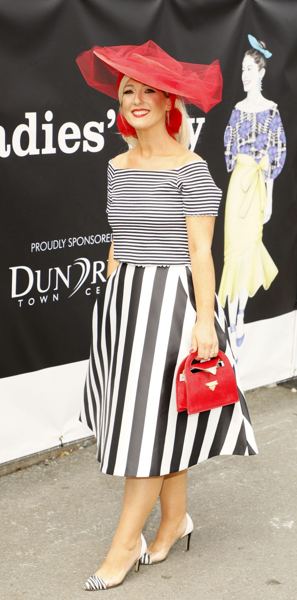 Carol Cassidy at the Dundrum Town Centre Ladies' Day at the Dublin Horse Show in the RDS. Photo: Kieran Harnett